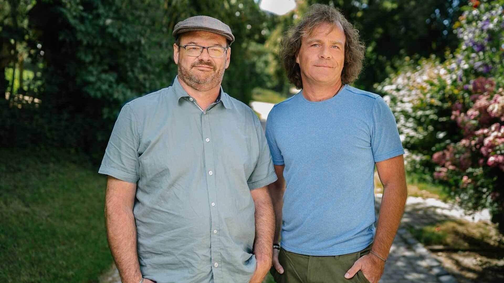 Ökoring-Geschäftsführer Thomas Börkey-Biermann und Christoph Weigl