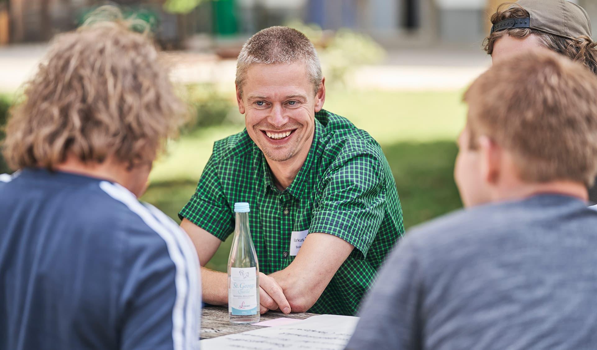 Biokreis-Wertschöpfungsketten-Manager Markus Blenk im Gespräch