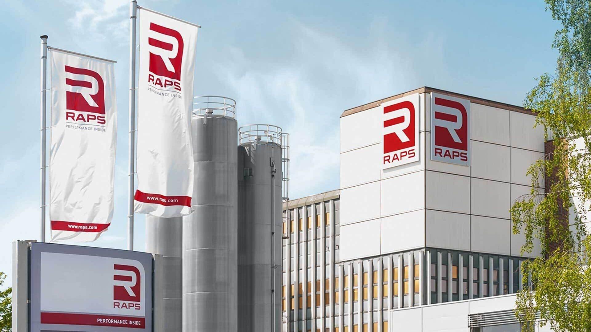 Gebäude der Firma Raps