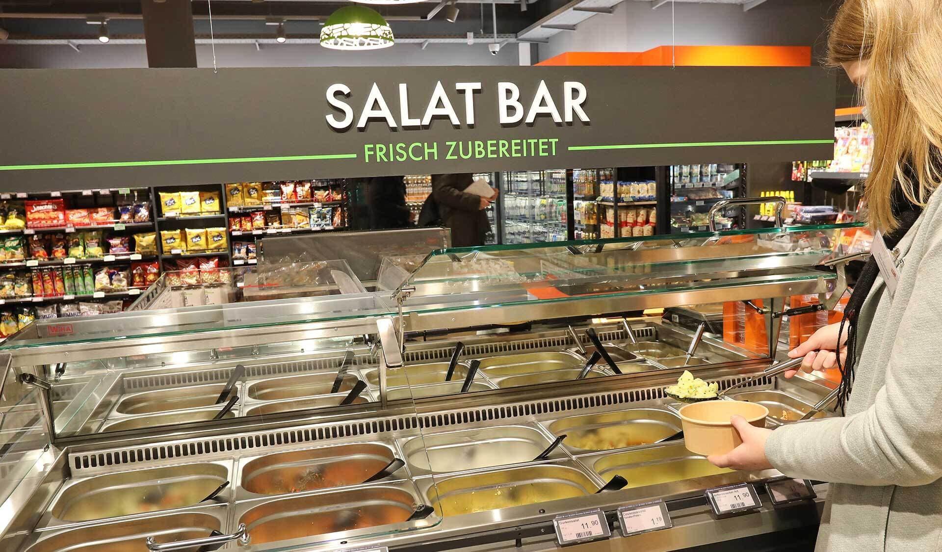 Tegut Quartier Salat Bar