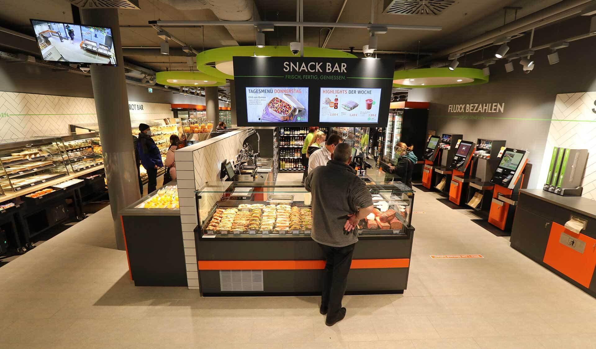 Tegut Quartier Snack Bar