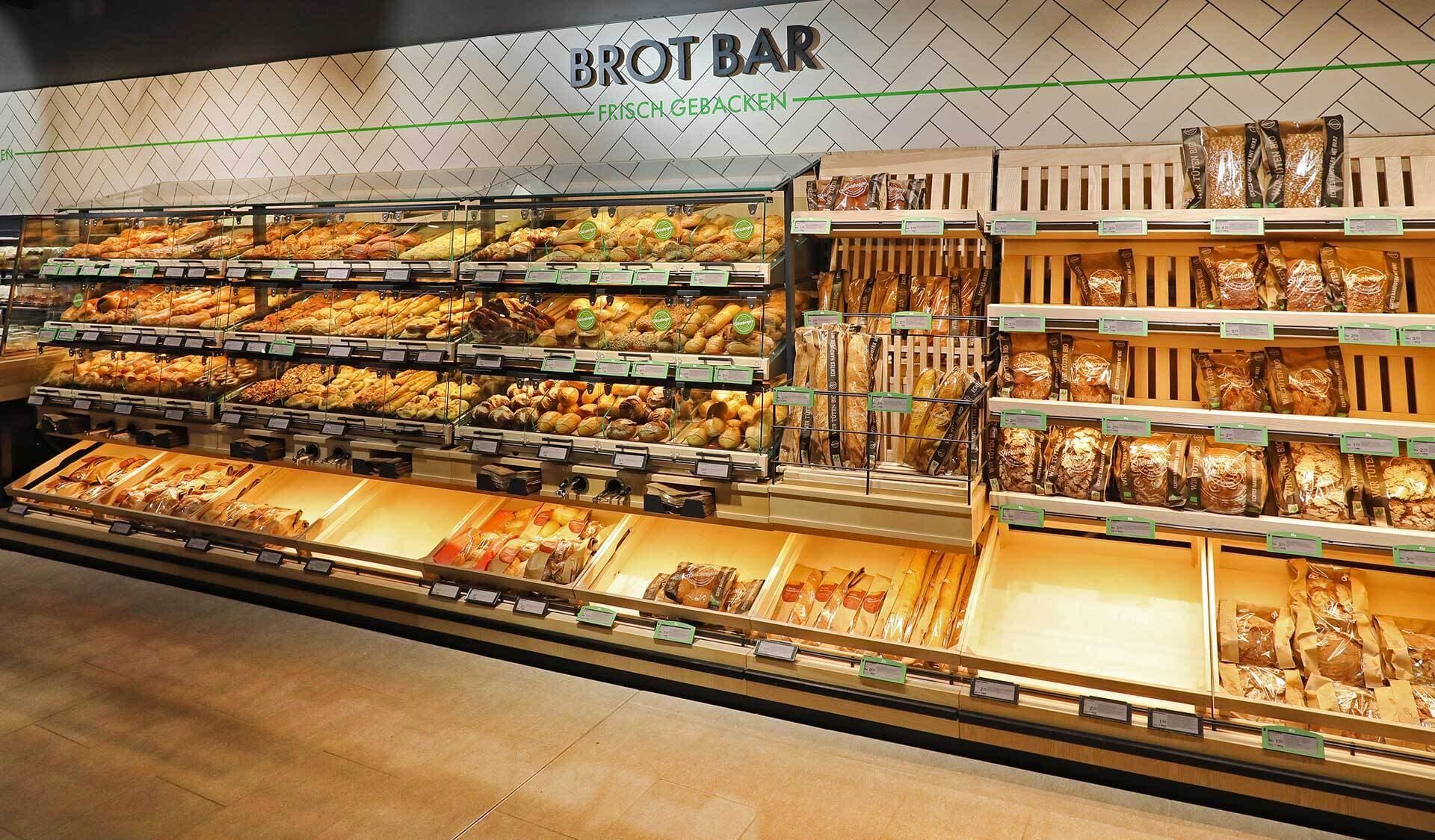 Tegut Quartier Brot Bar