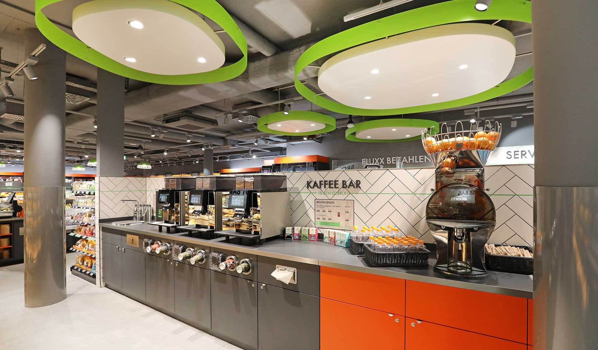 Tegut Quartier Kaffee Bar