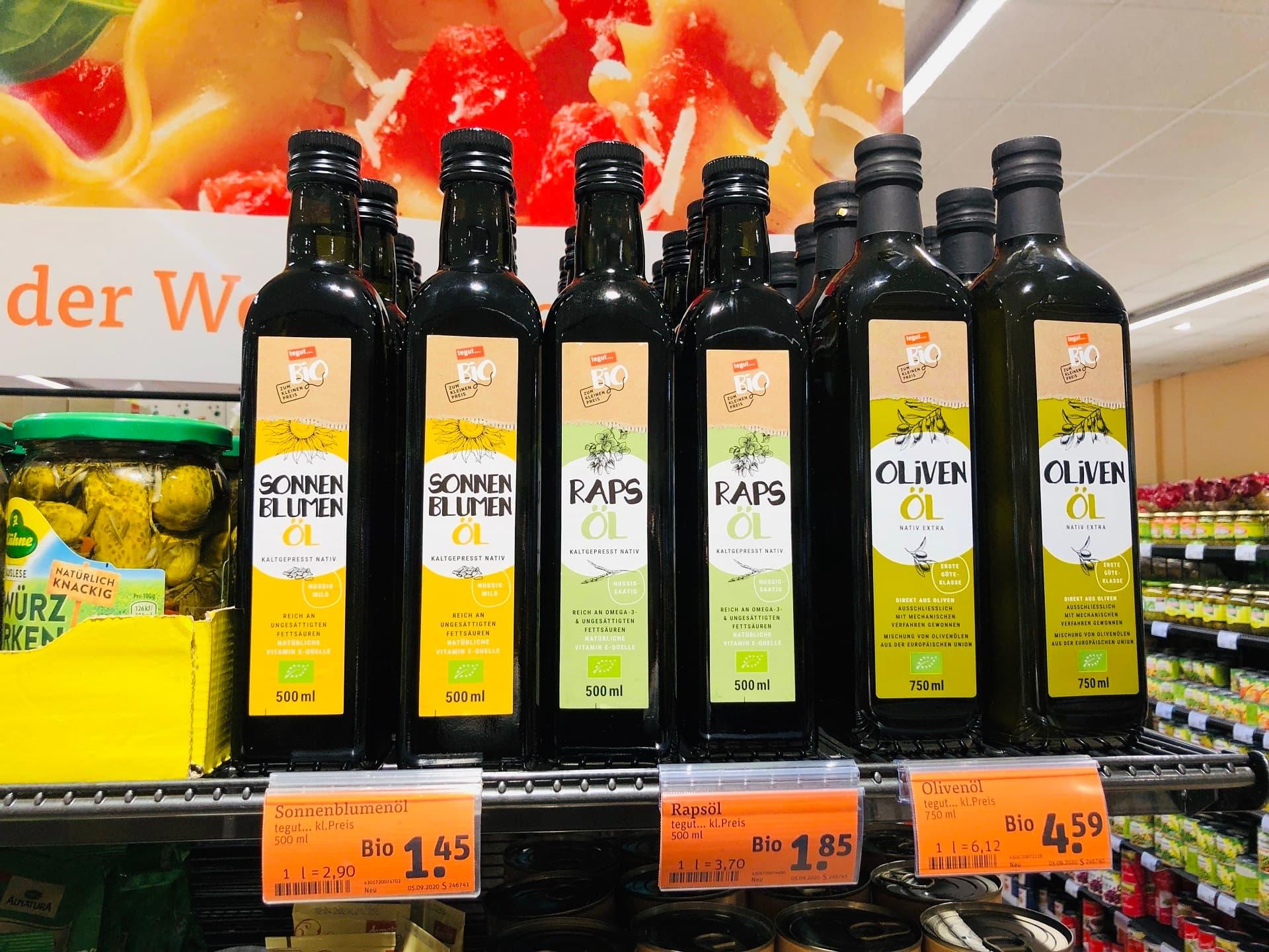 Bio-Speiseöl von