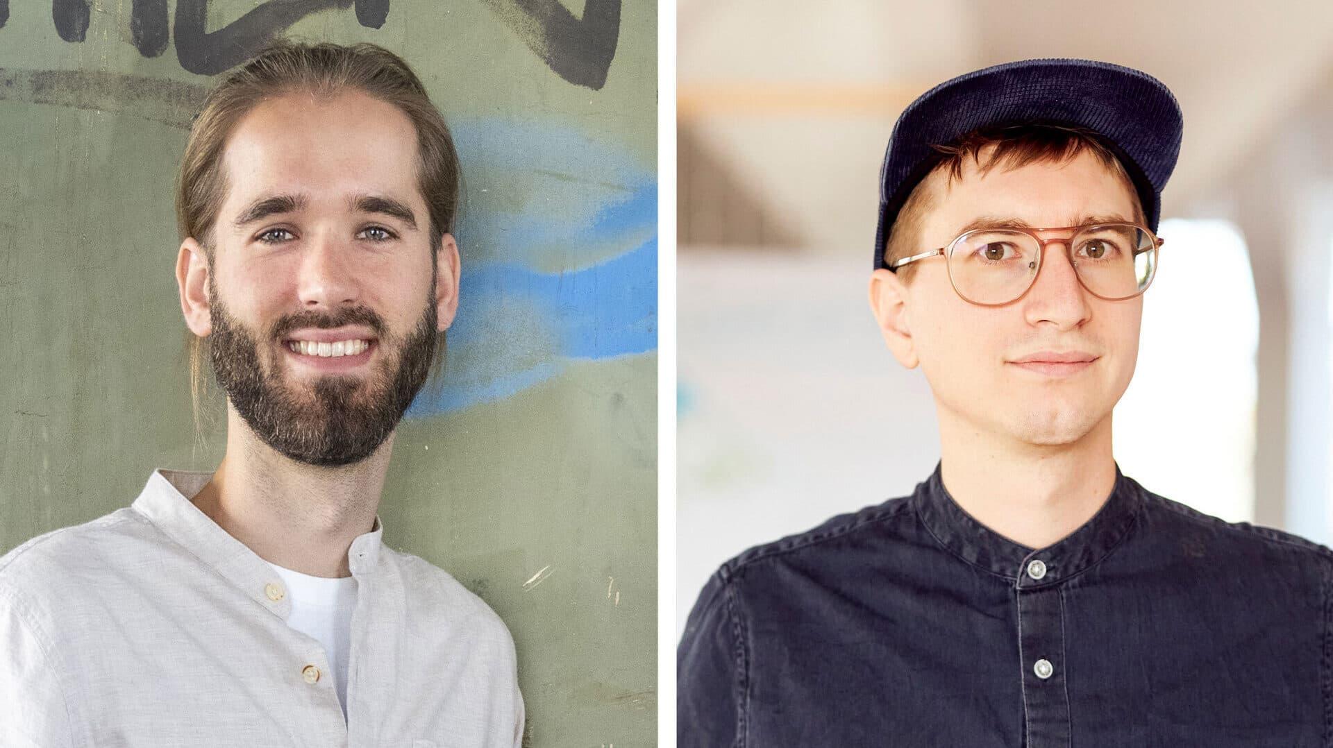 Julius Palm und Tobias Reitz