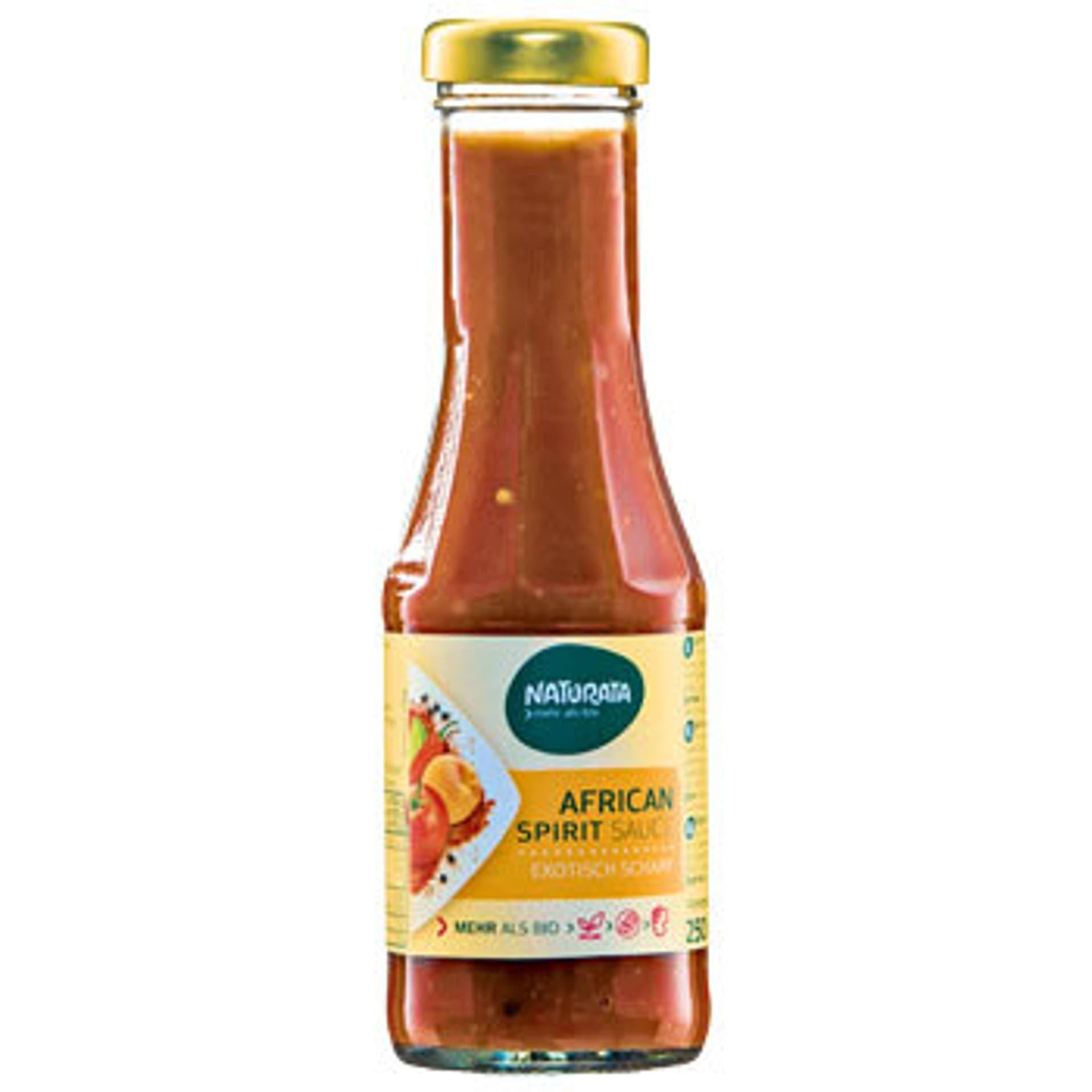 African Spirit Sauce von Naturata