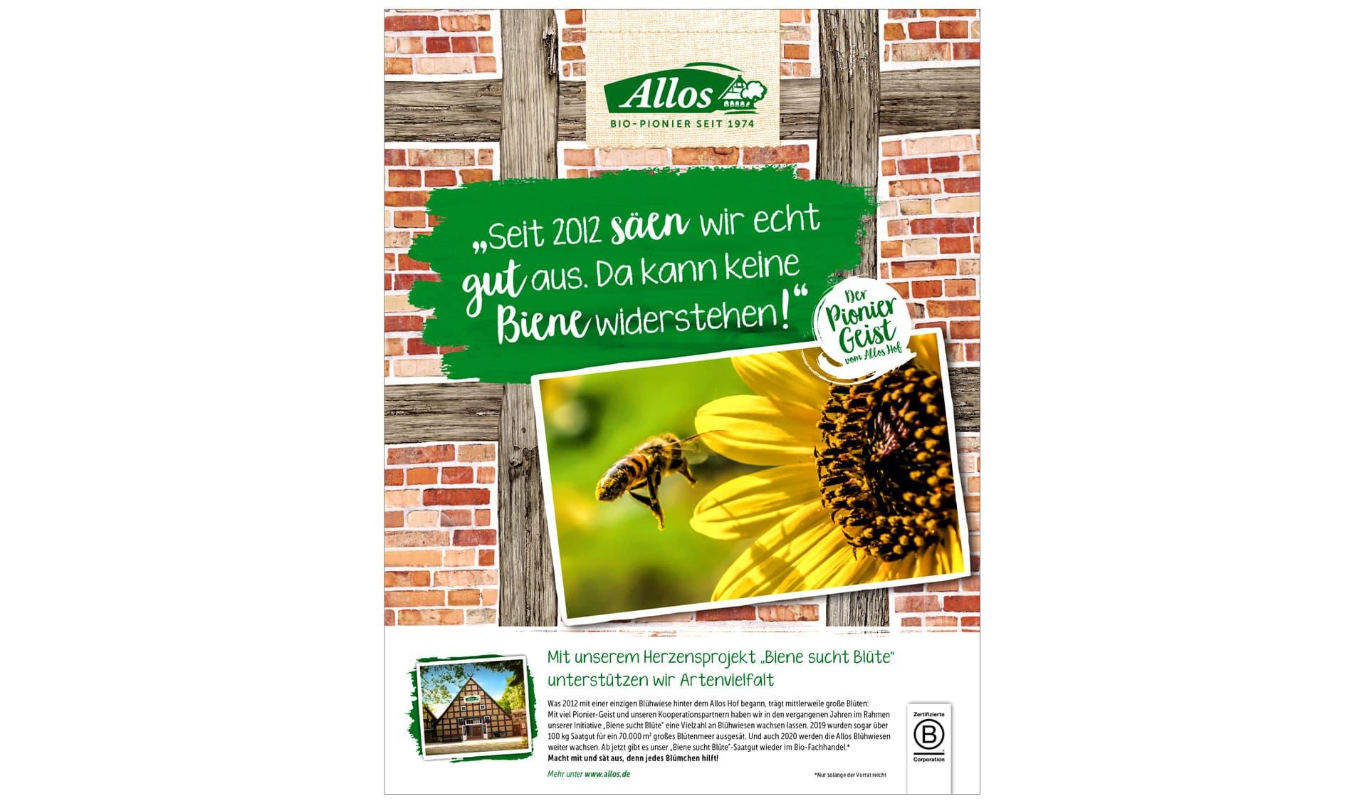 Anzeige von Allos