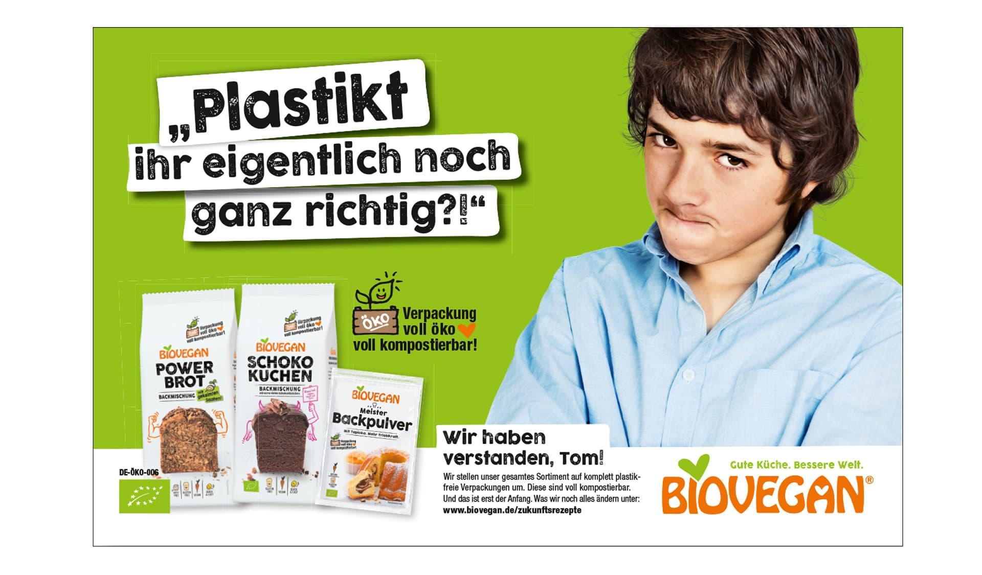 Anzeige von Biovegan