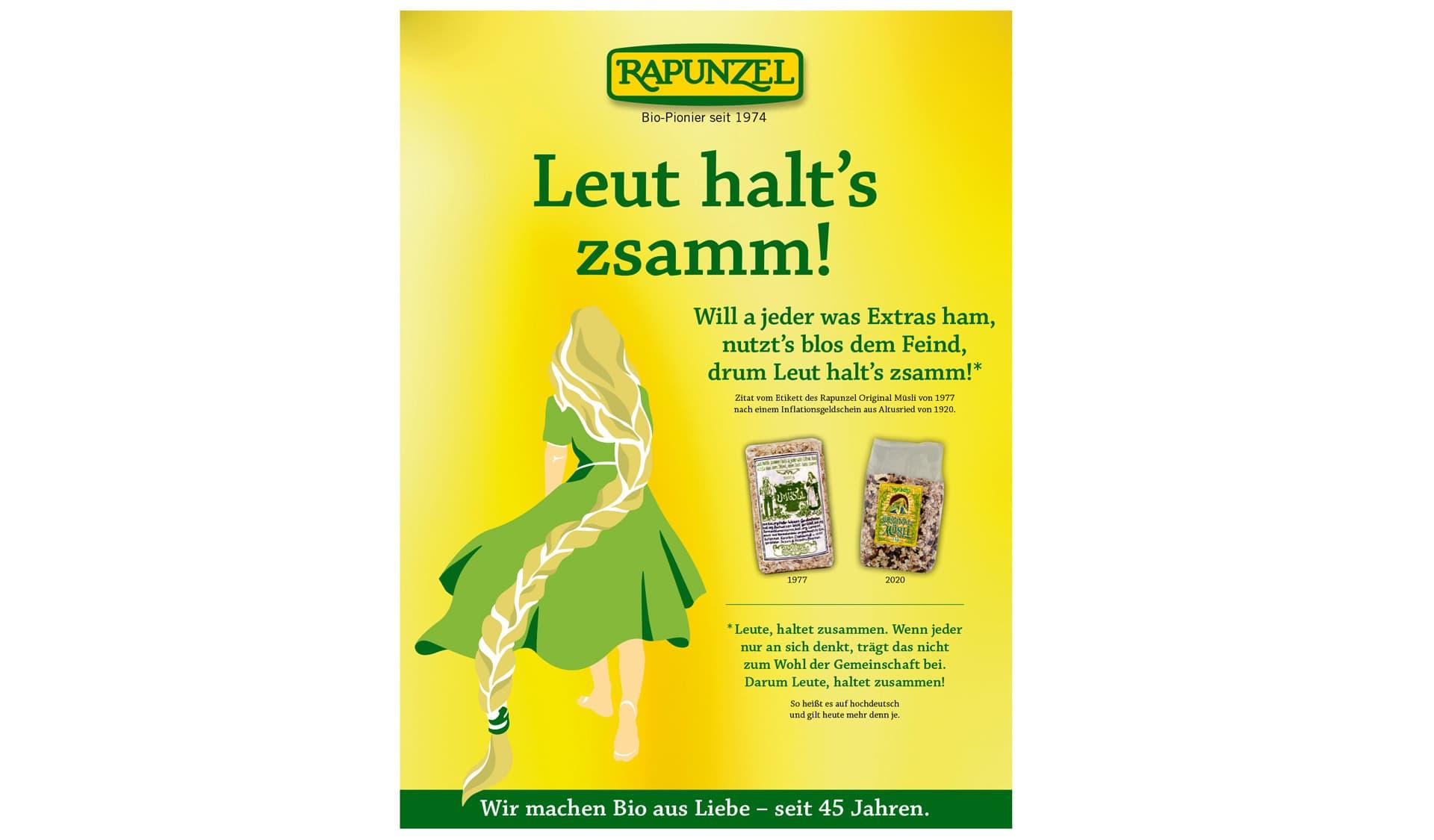 Anzeige von Rapunzel