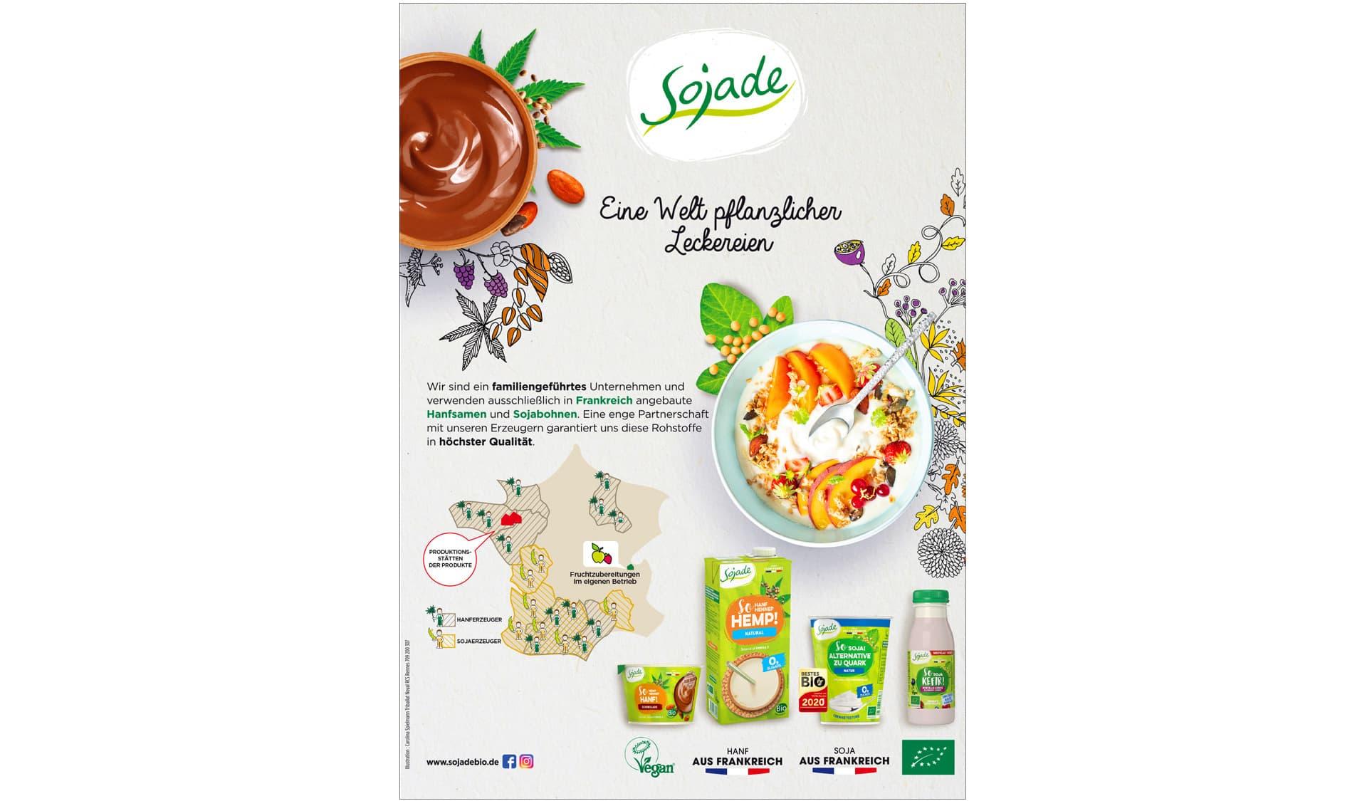 Anzeige von Sojade
