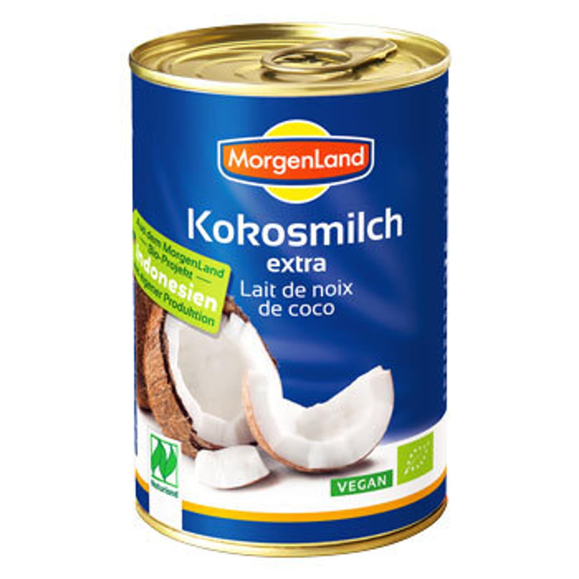 Morgenland kokosmilch extra