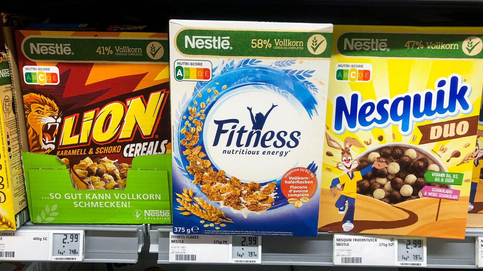 Nutri-Score, Nestle, Cornflakes