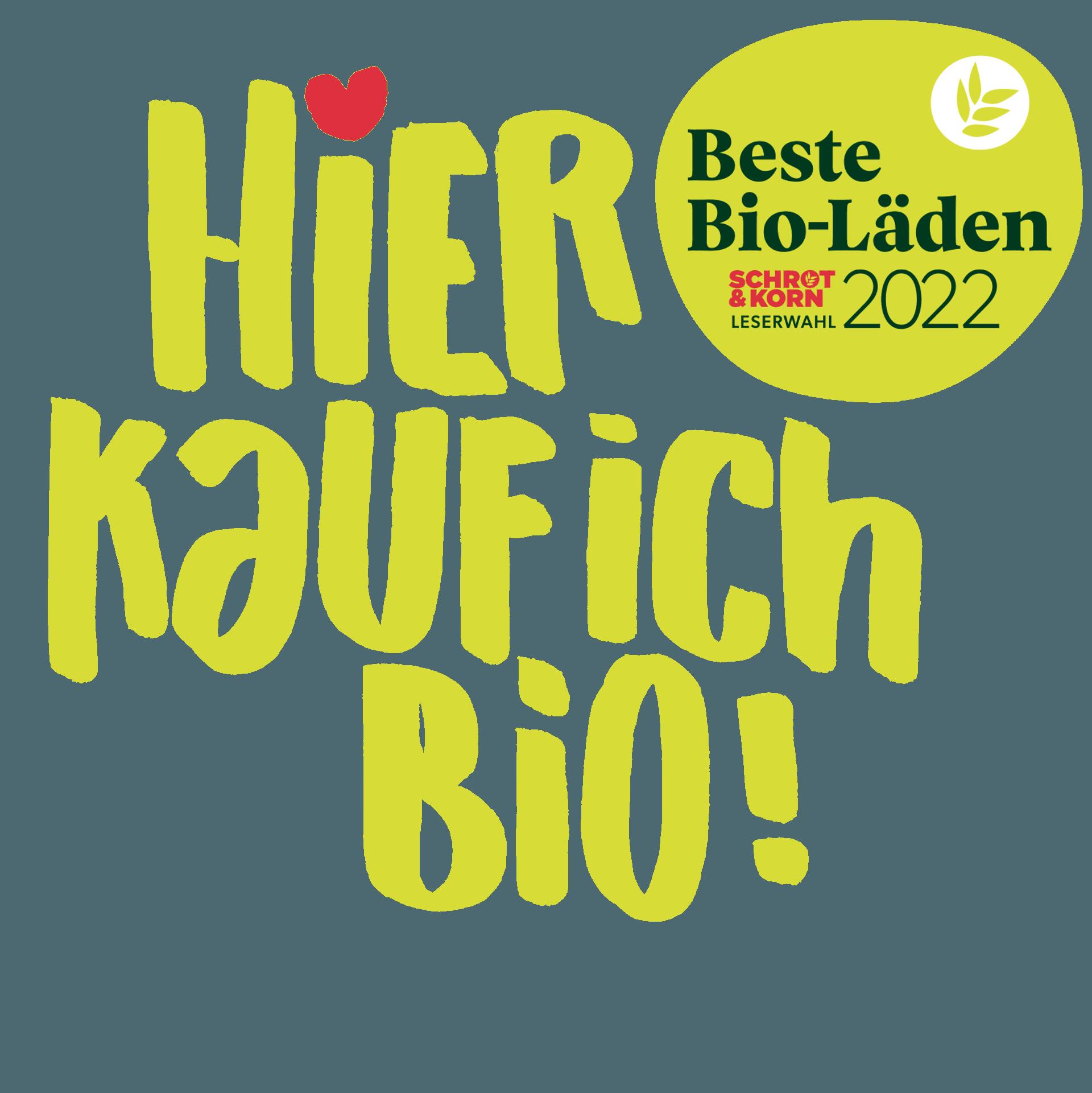 Logo Beste Bio-Läden 2022