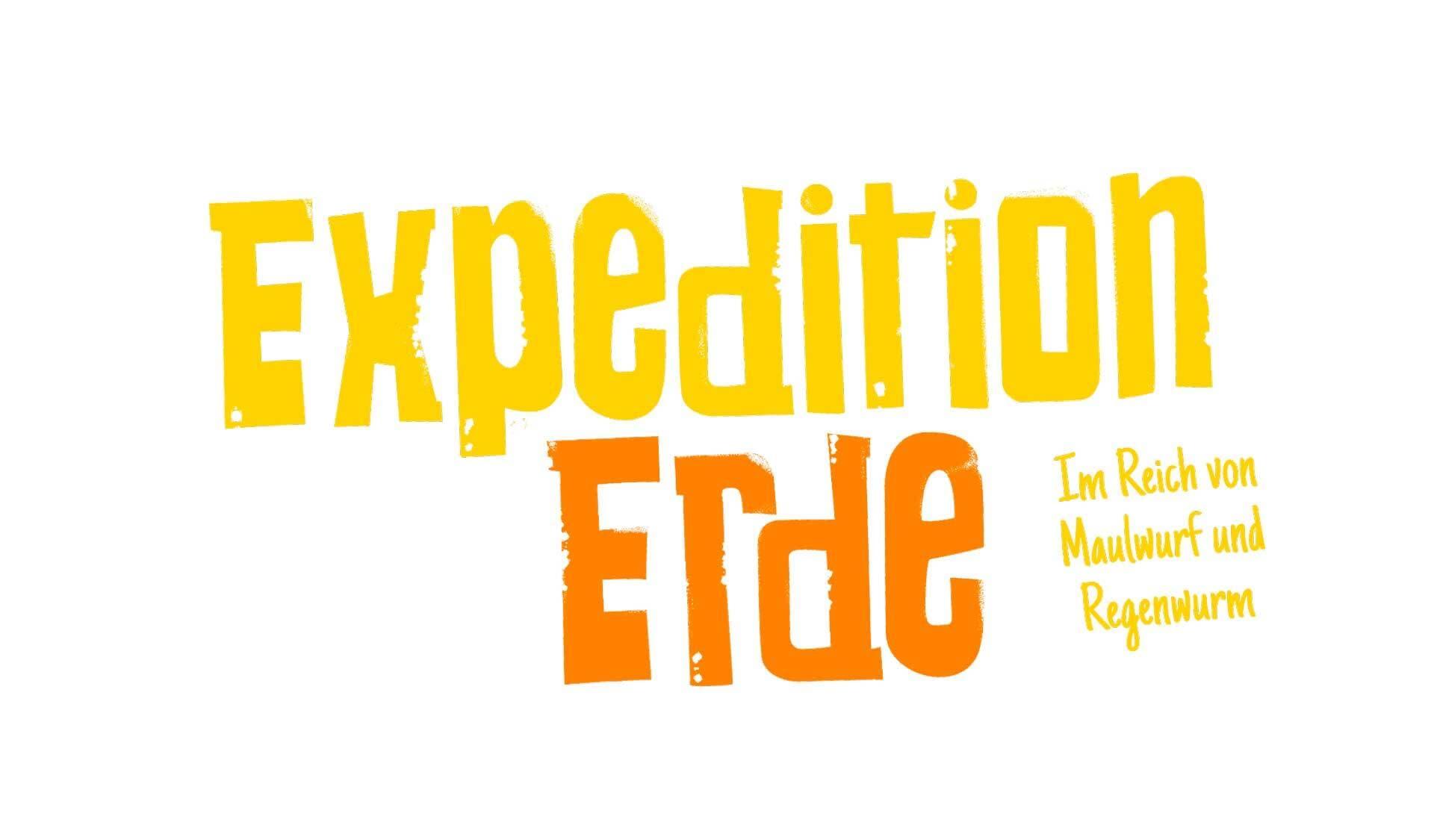 Logo der Ausstellung Expedition Erde