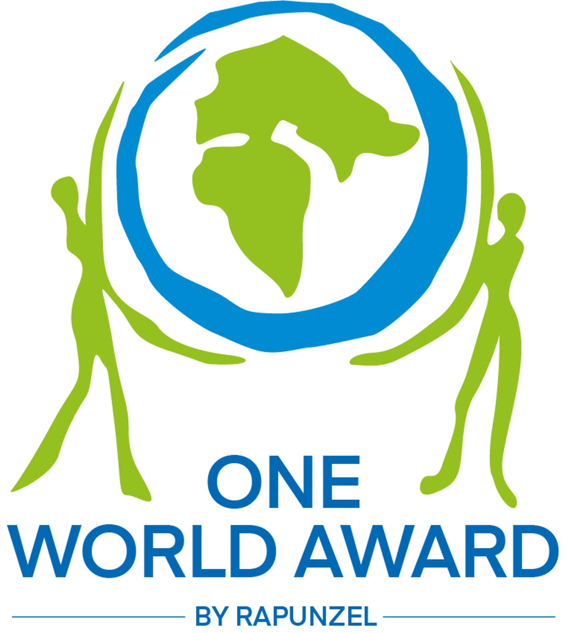 Das Logo des Wettbewerbs One World Award