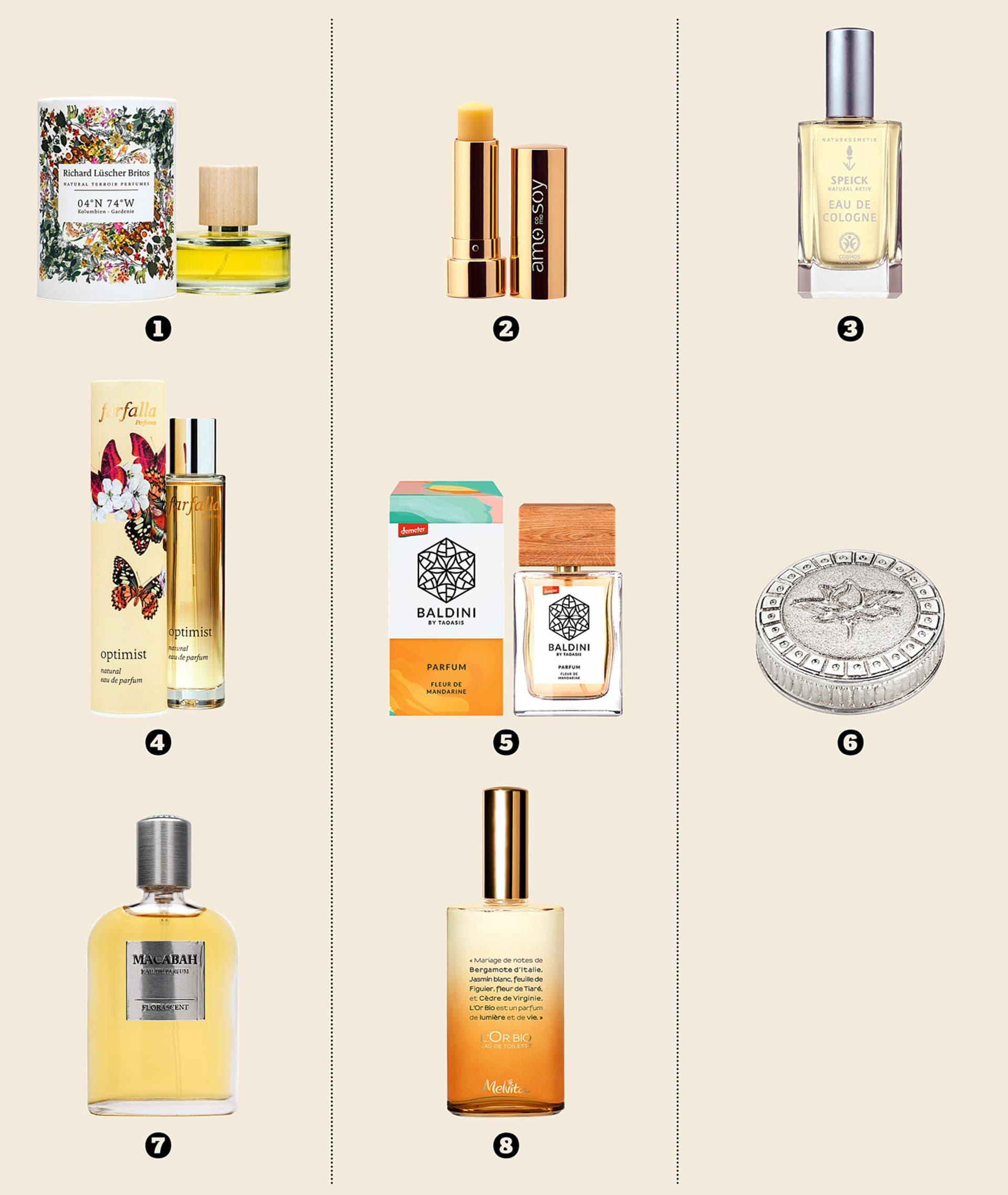 8 Naturperfums