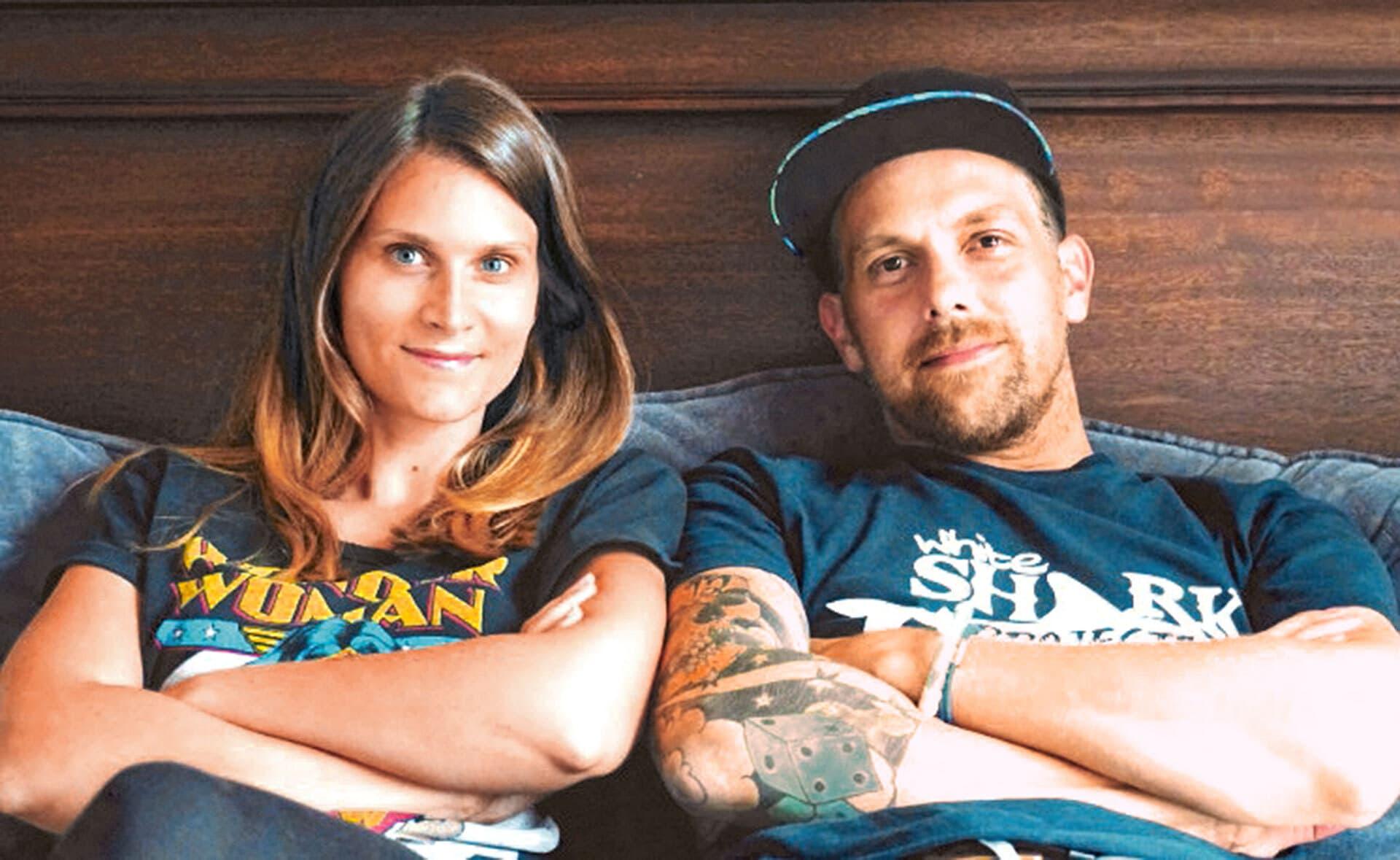 Marina und Michael Schmidt von der Umweltschutz-Initiative Ozeankind e.V.