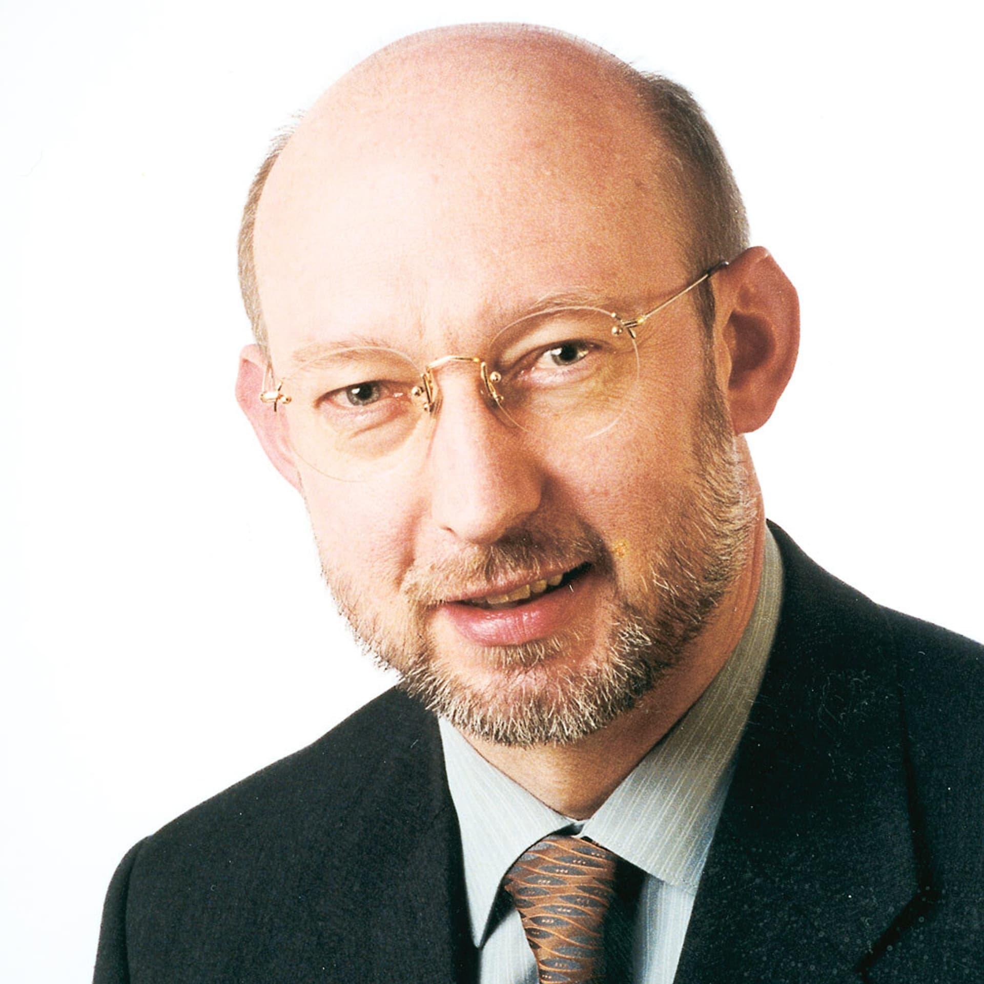 Detlef Pape: Mann mit Brille und Bart