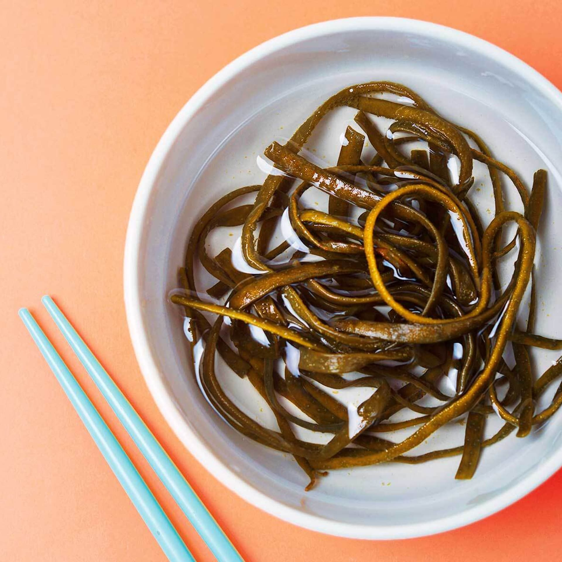 Algen meeres spaghetti (Himanthalia elongata)