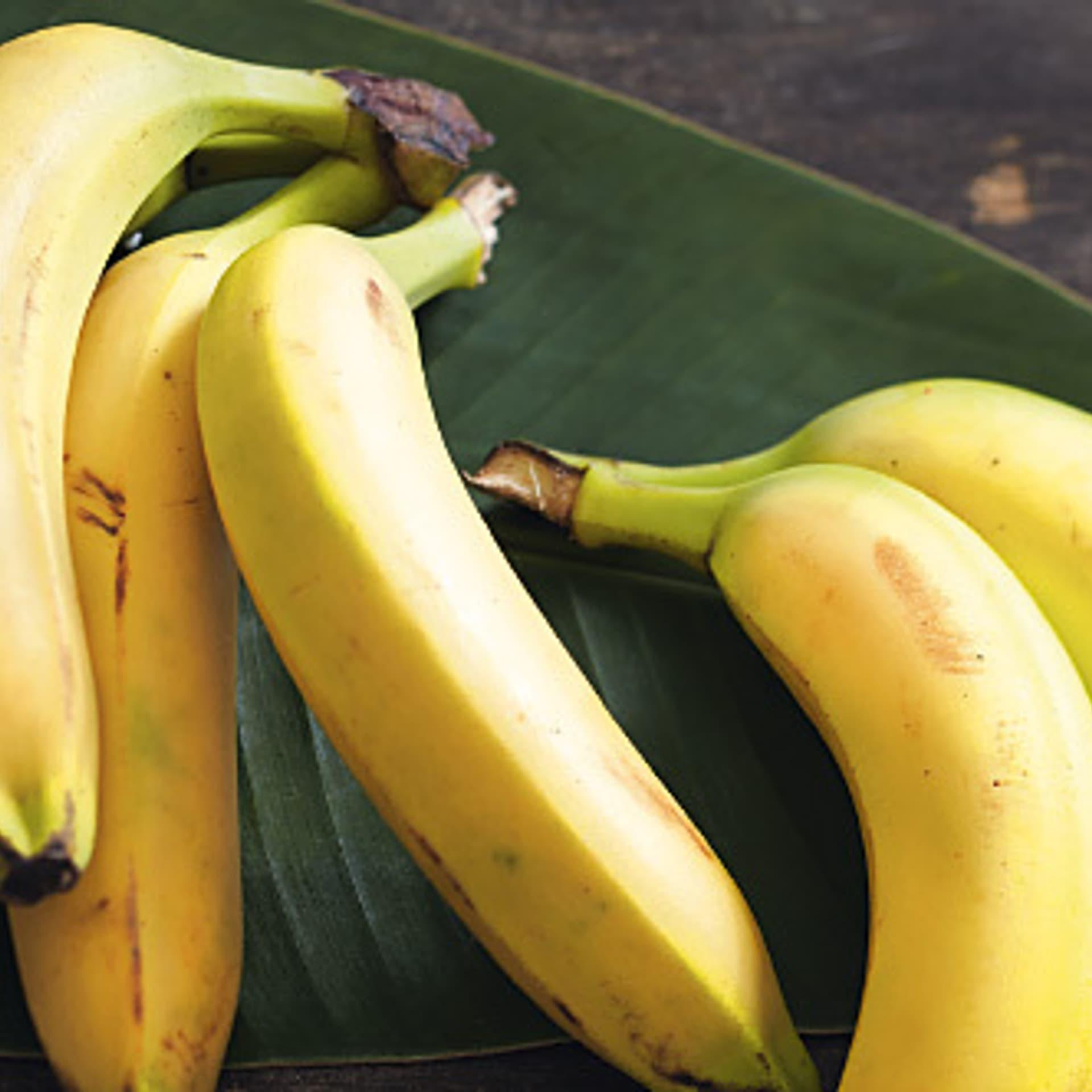 Mit Bananen kochen