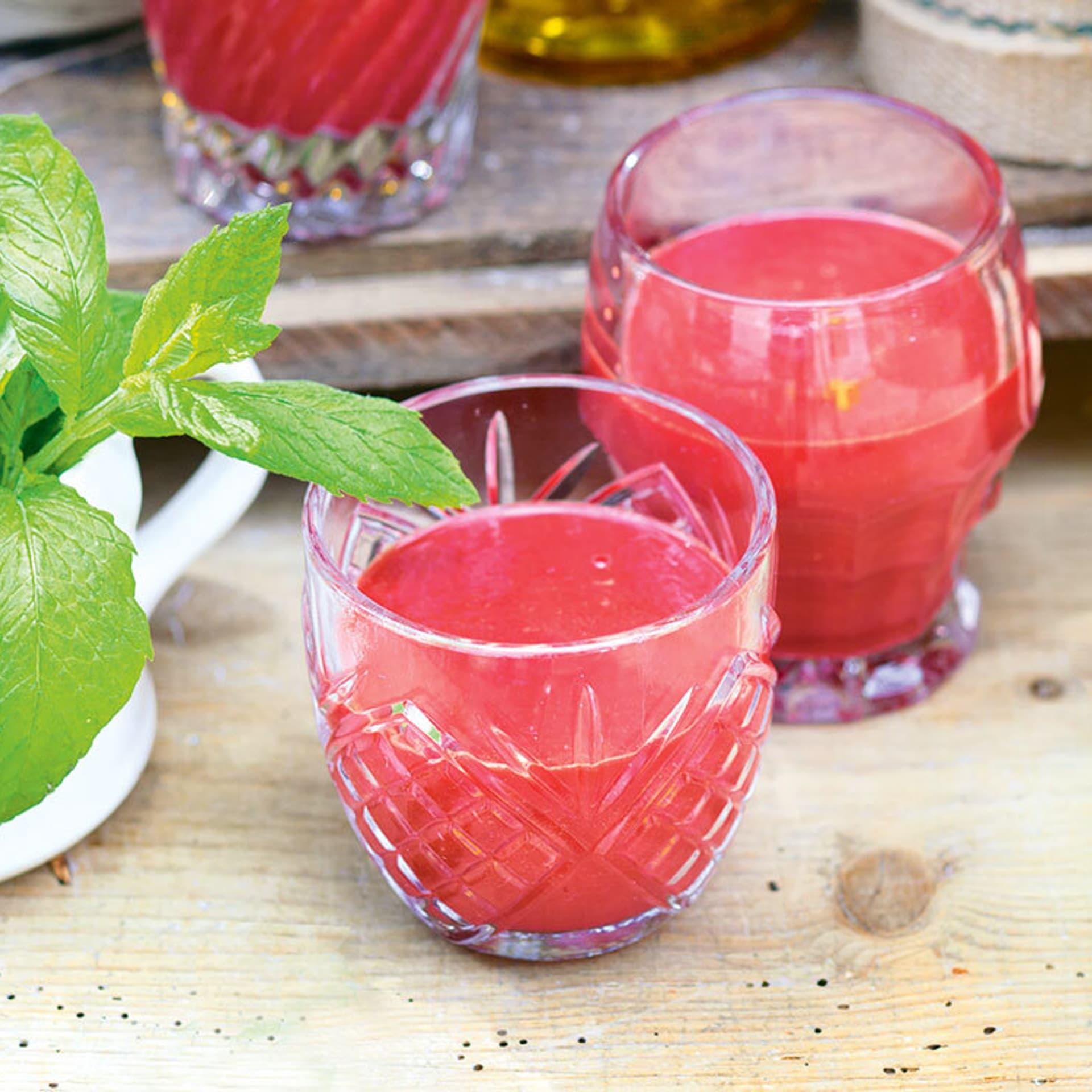 Apfel karotten rote bete smoothie