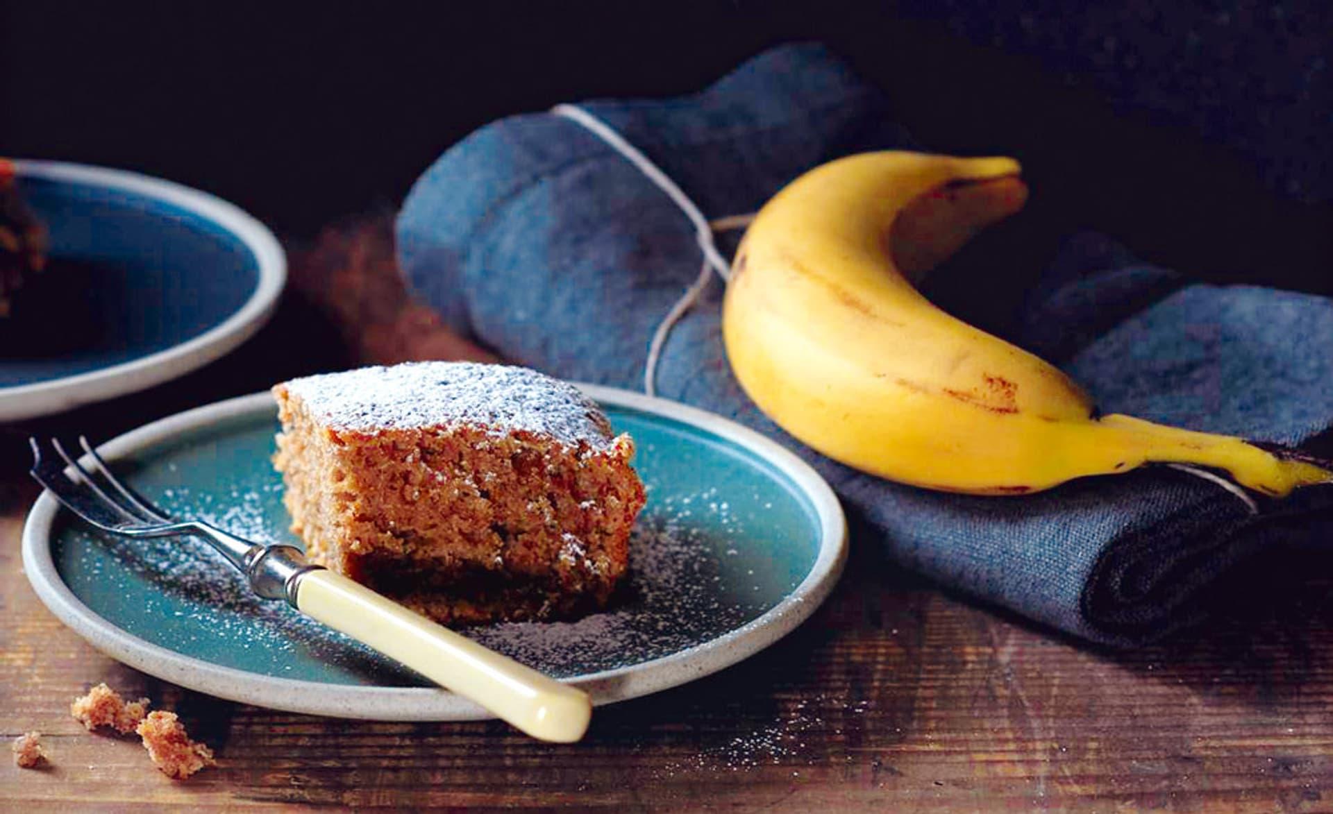 Bananenschalen-Brot