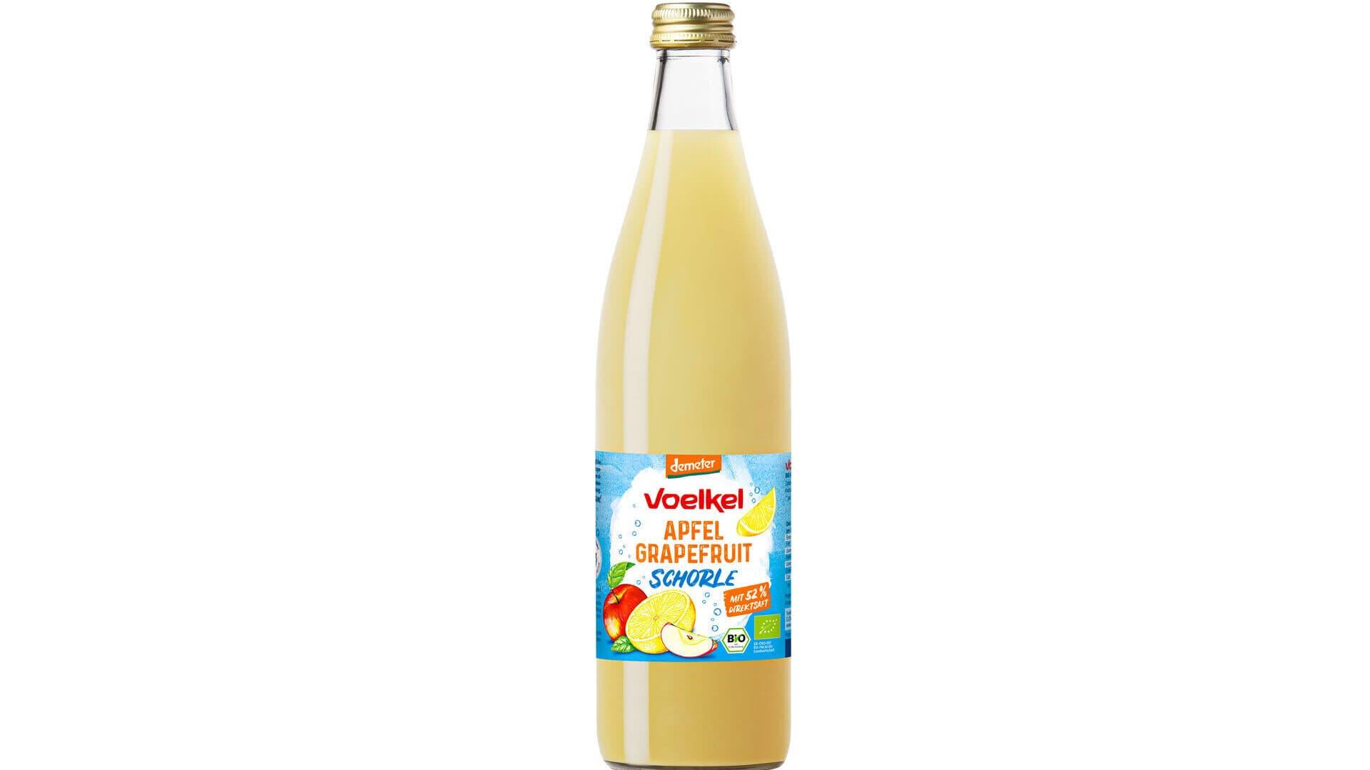 Voelkel Apfel-Grapefruit-Schorle