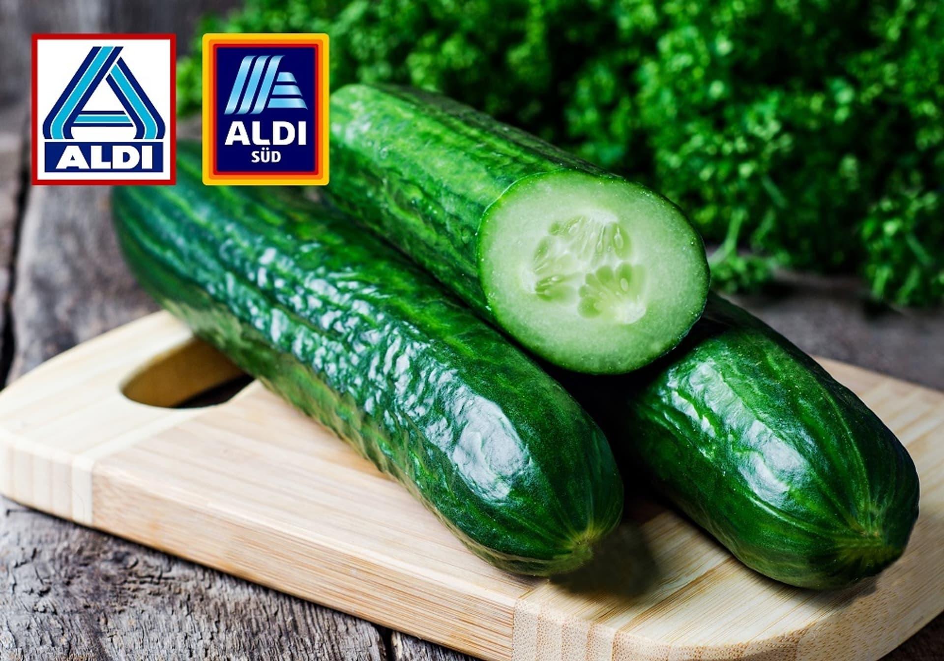 Aldi Salatgurke unverpackt c Aldi