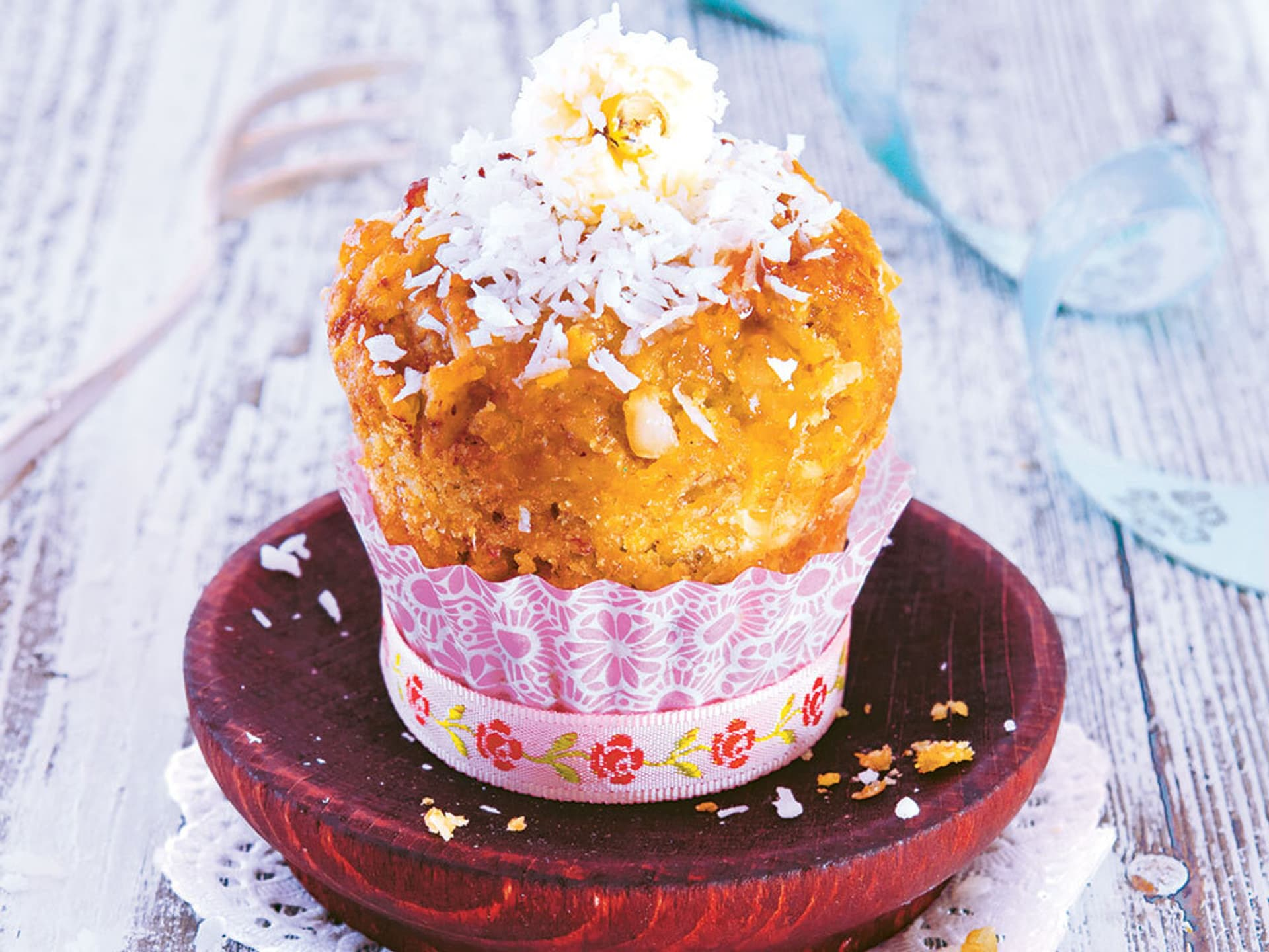 Teller mit Muffin