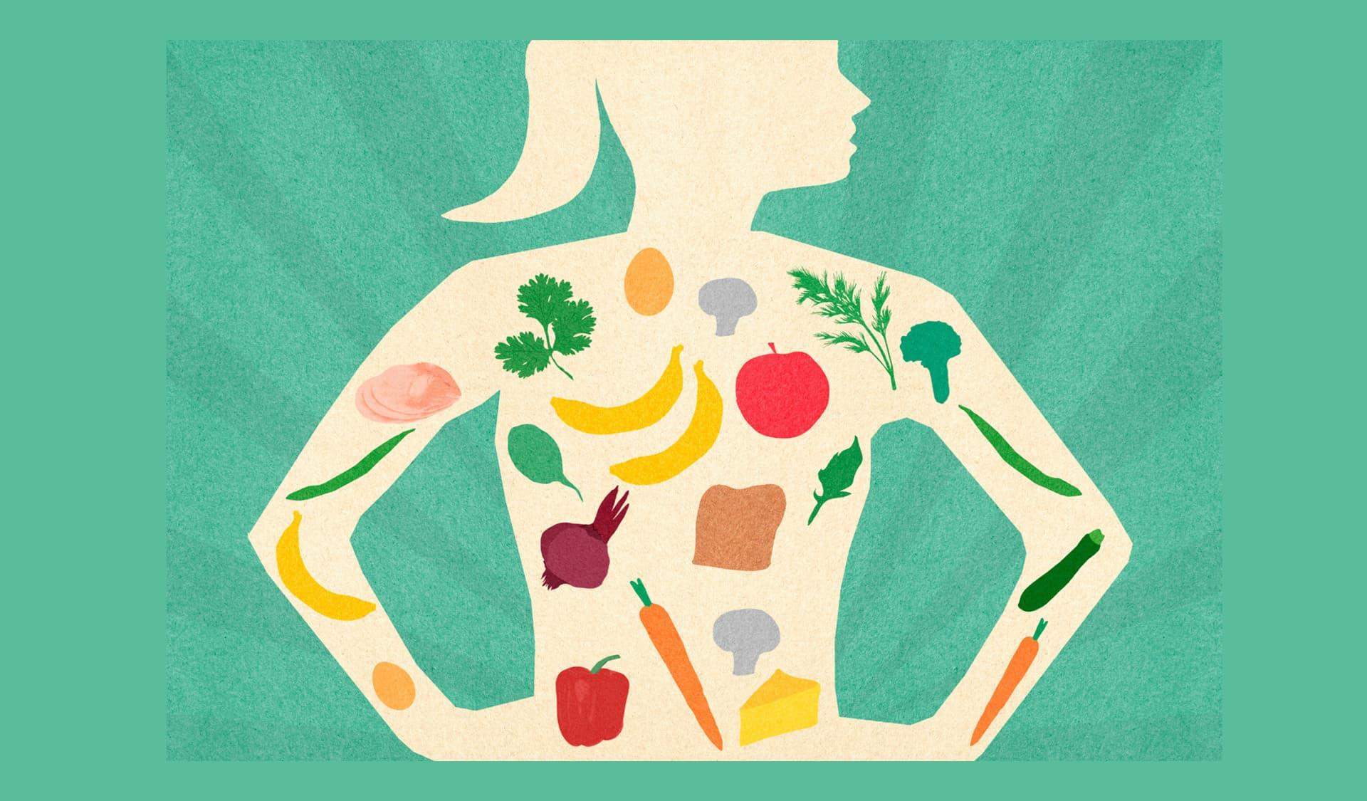 Essen im Körper: Basenfasten