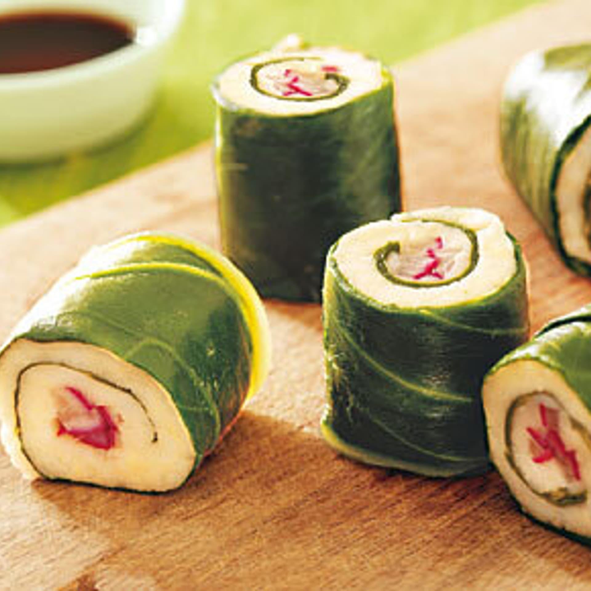 Bayrisch Sushi mit Meerrettich