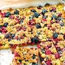 Beeriger Streuselkuchen