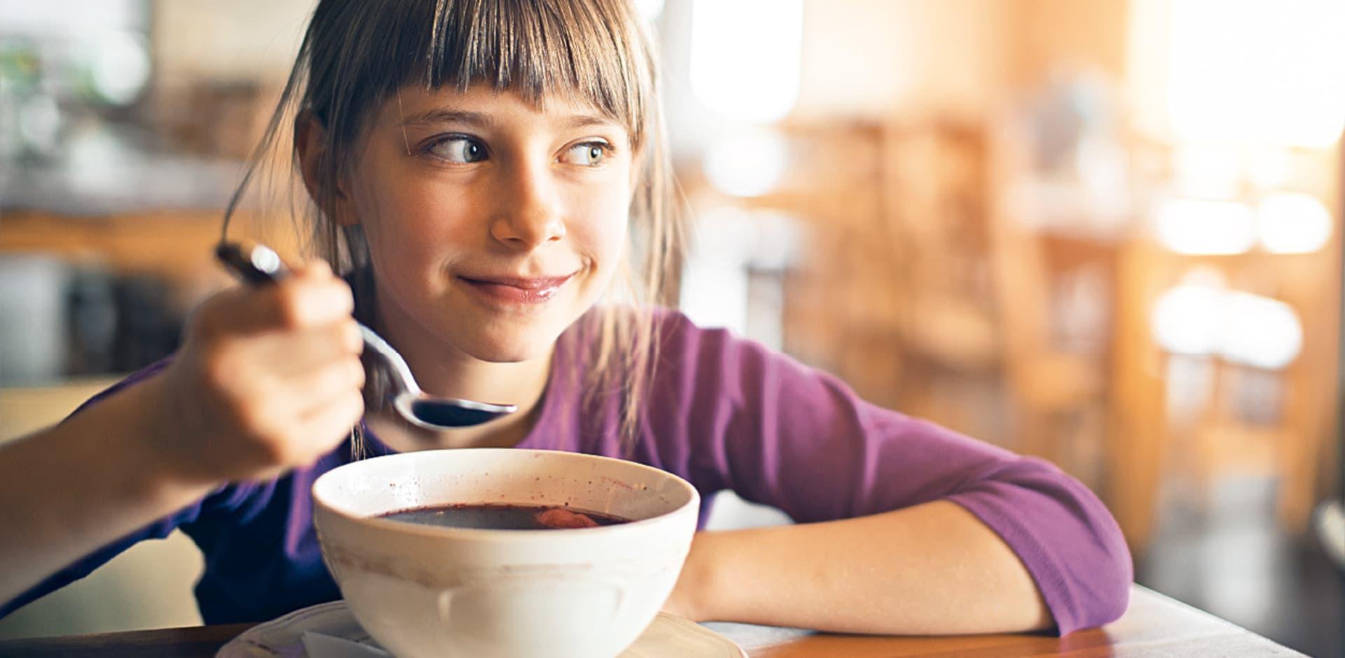 Vor allem in der kühlen Jahreszeit wird gerne Suppe gelöffelt.