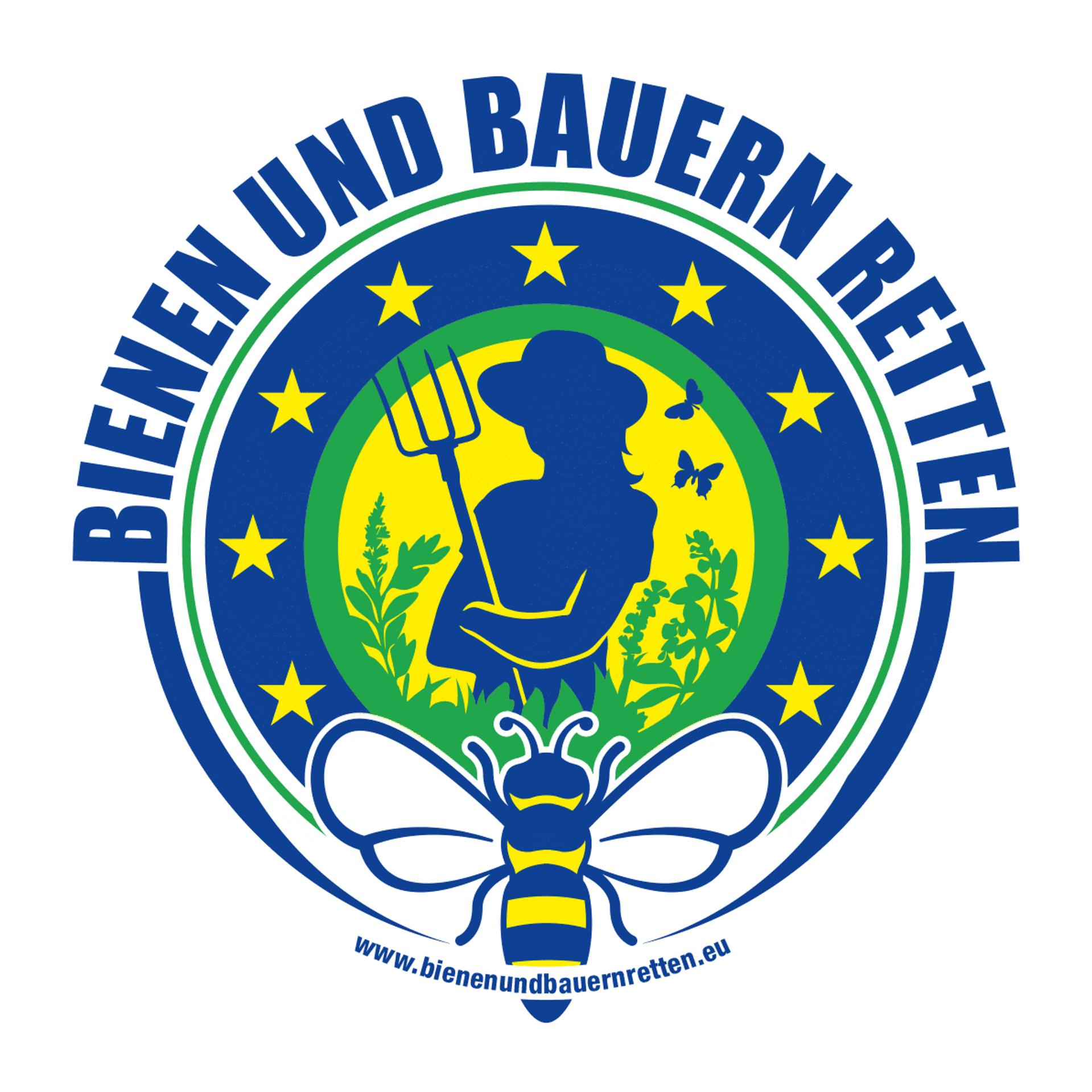 Logo Bienen und Bauern retten