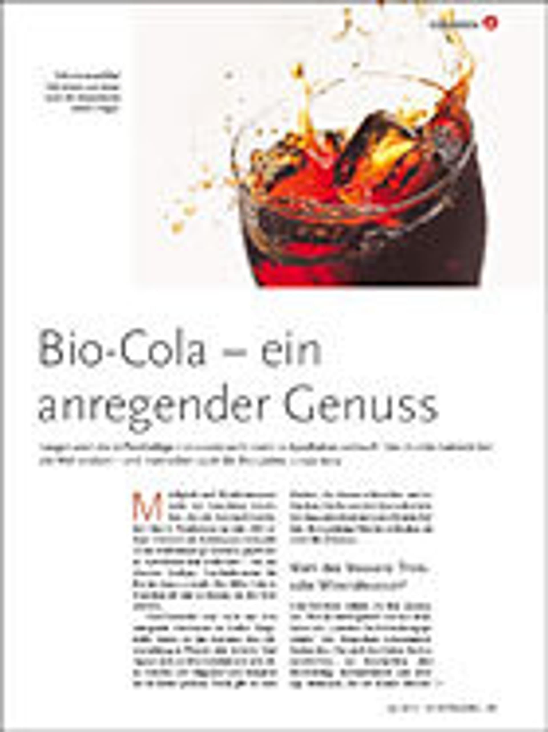 Bio-Cola