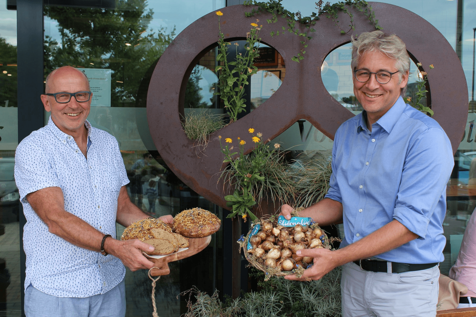 Ernst Koehler und Jan Plagge