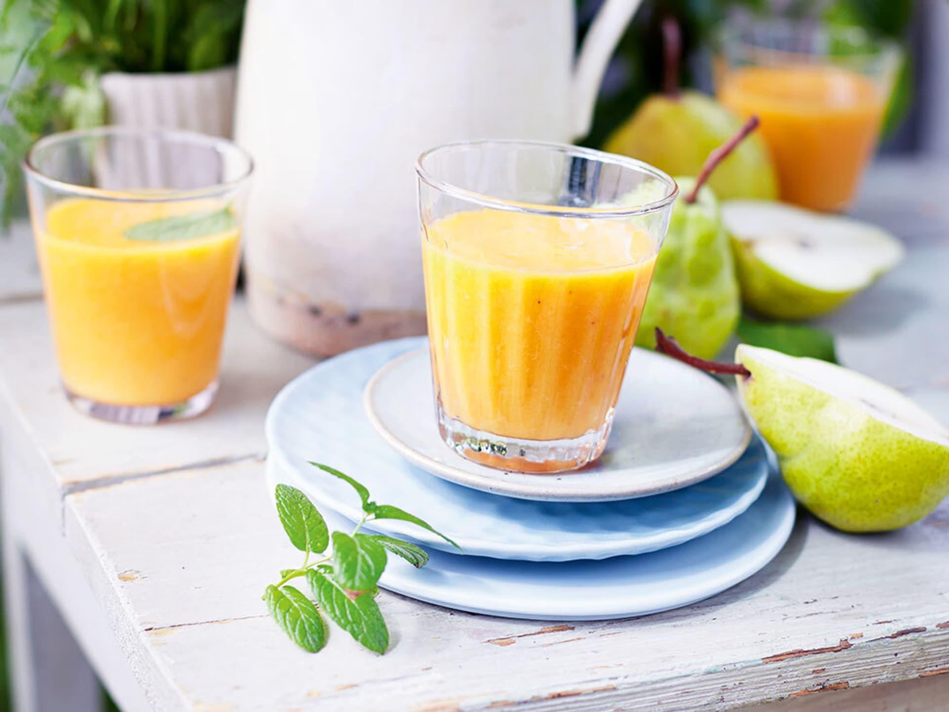 Oranges Getränk