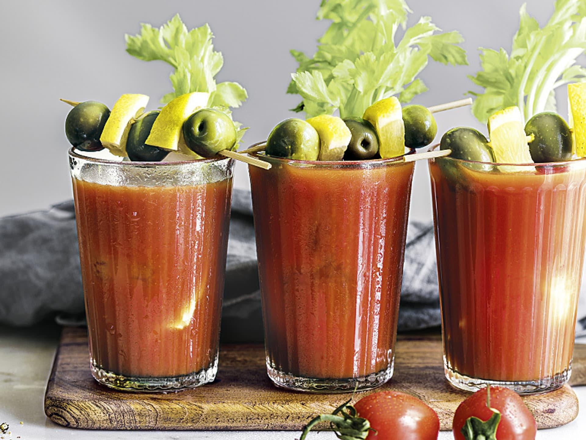 Bloody Mary mit Kombucha
