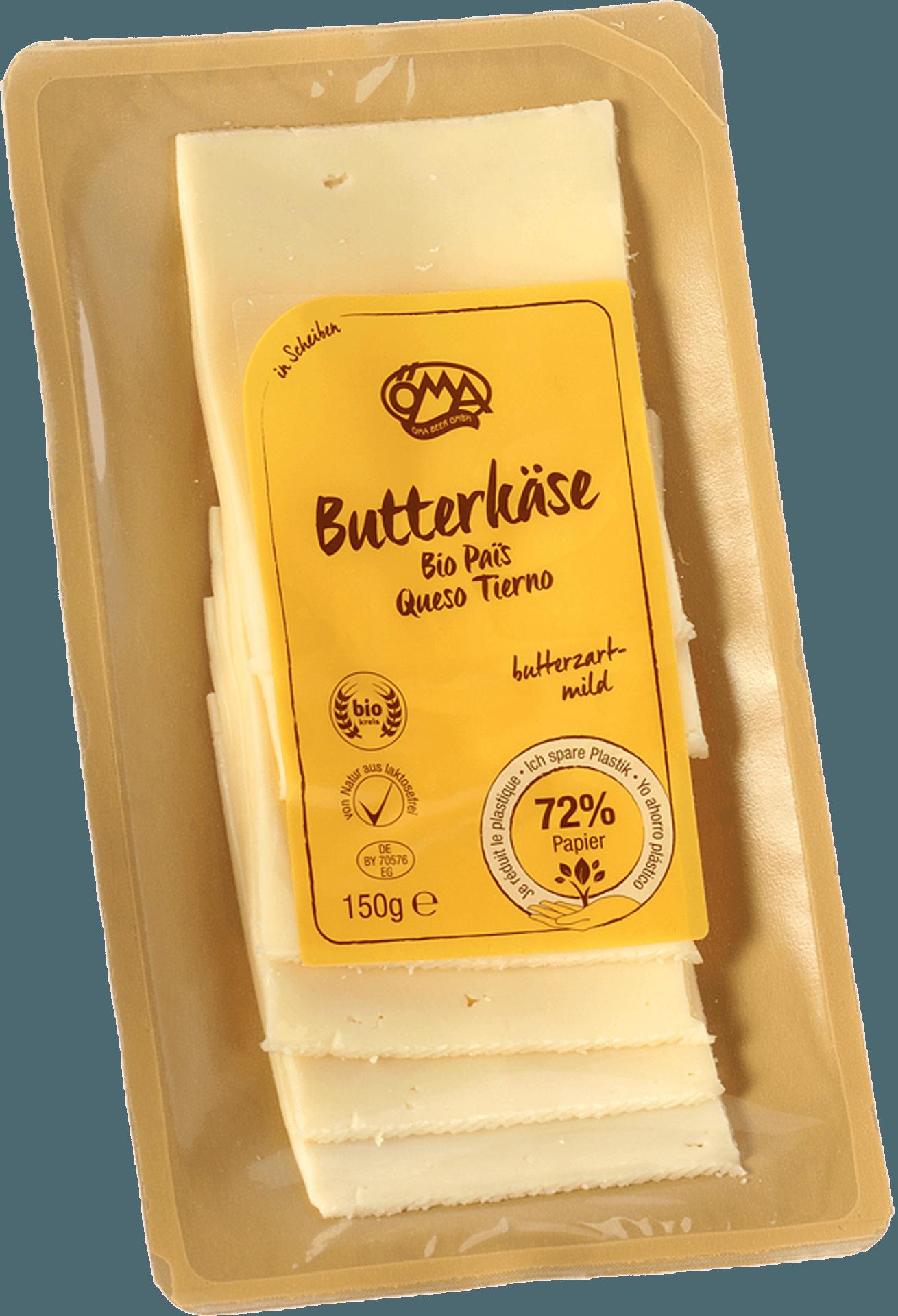 Käse in Scheibenverpackung