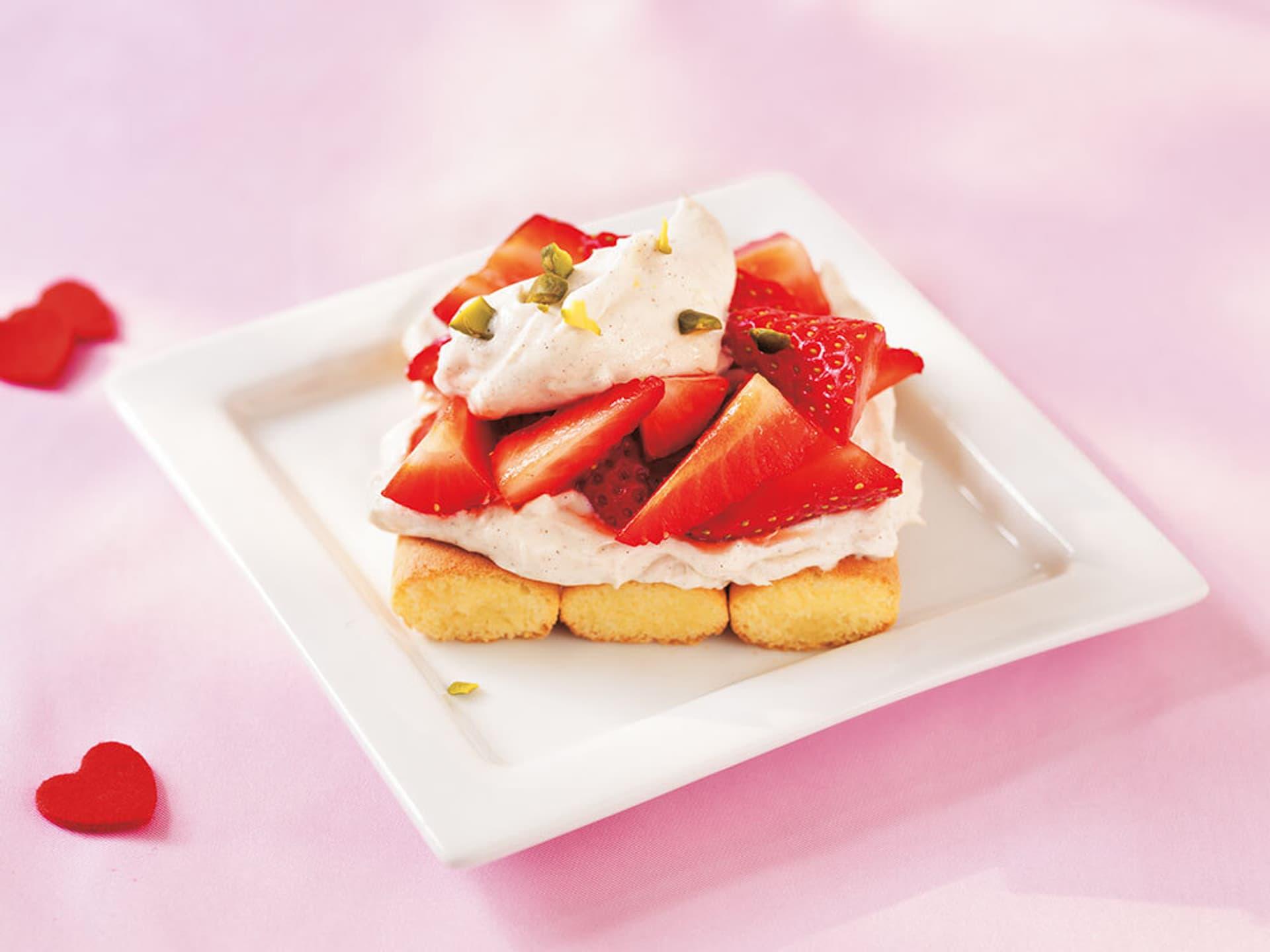 Casanovas erdbeer tiramisu