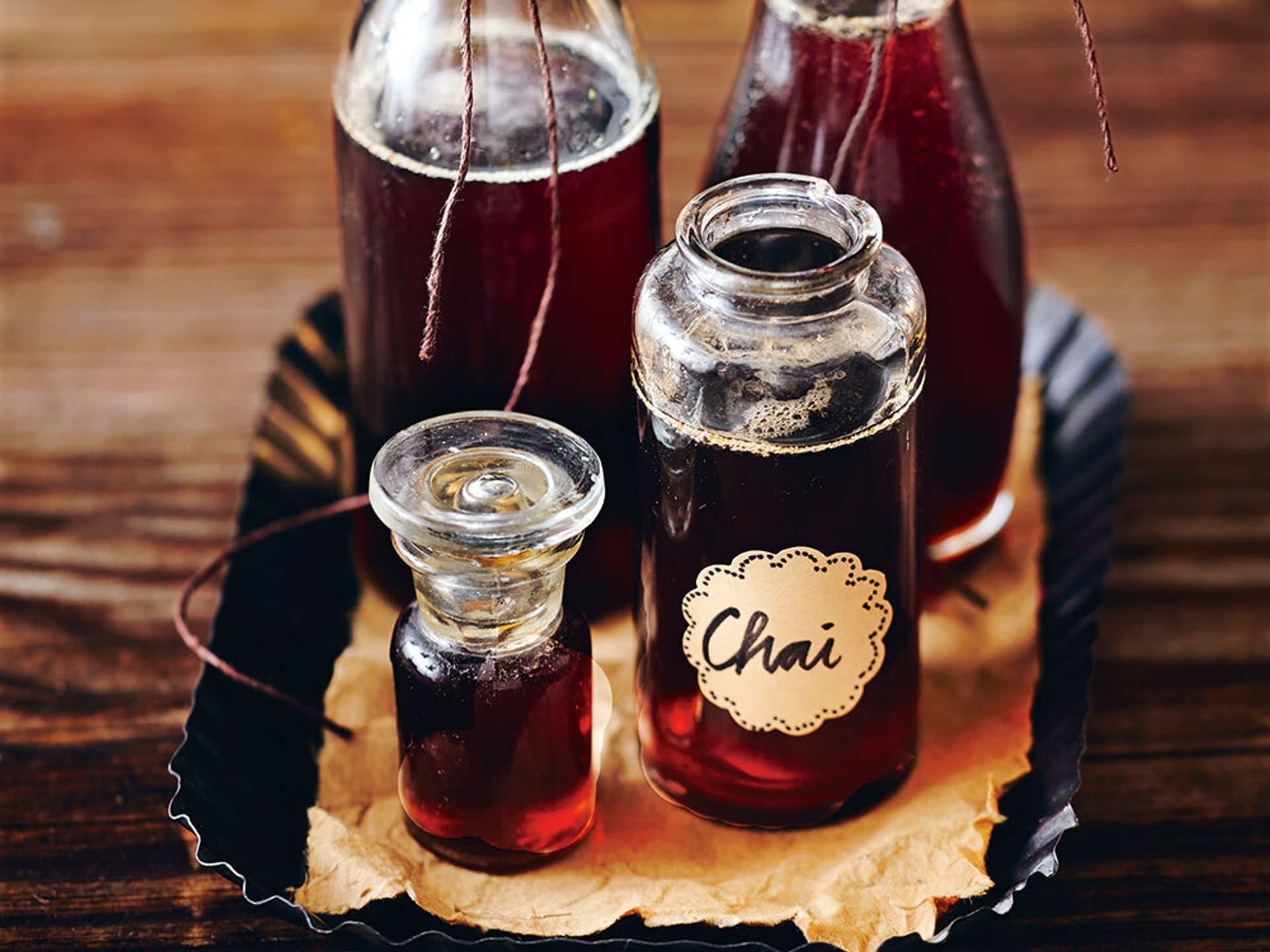 Chai Sirup für Desserts und warme Getränke