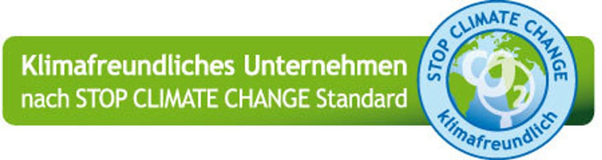 Label Stop Climate Change Standard
