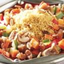 Couscous-Gemüse mit Nüssen