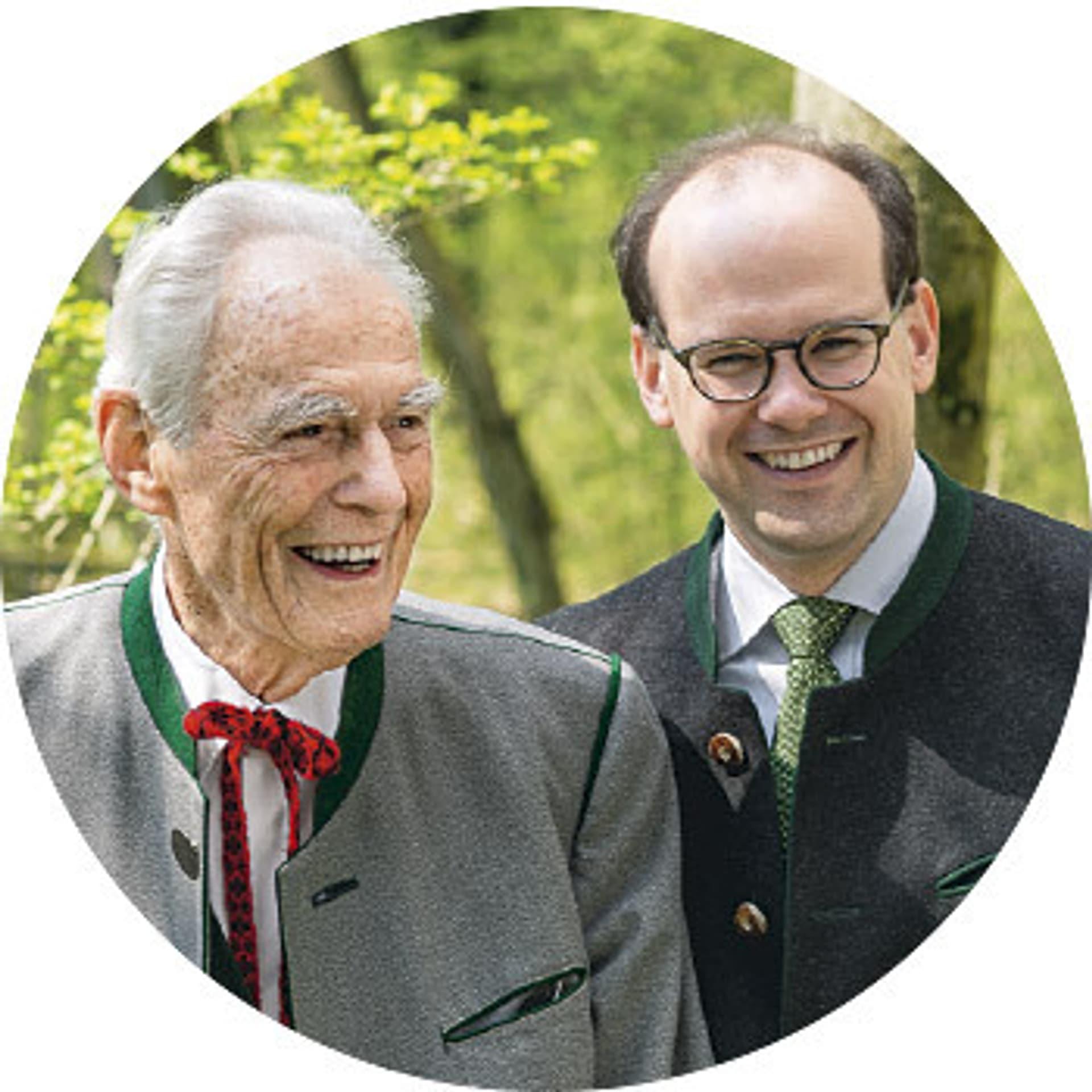 Otto Greither und Florian Block