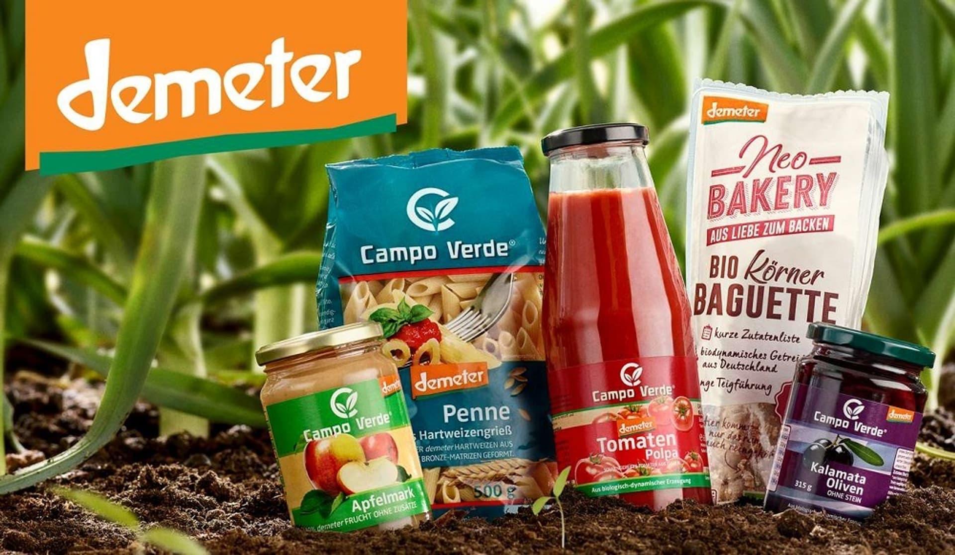 Demeter-Produkte
