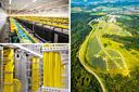 Solarparks können regenerativen Strom für Rechenzentren liefern.