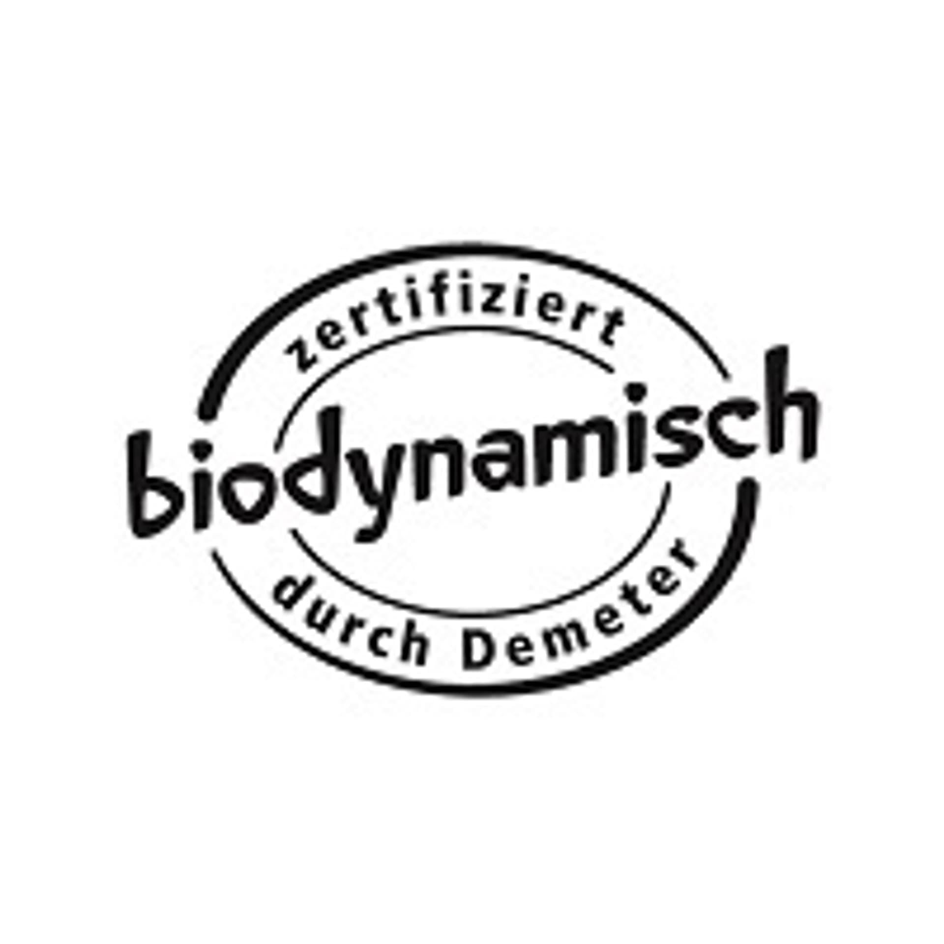 Biodynamisches Demeter Siegel fuer Handelsmarken