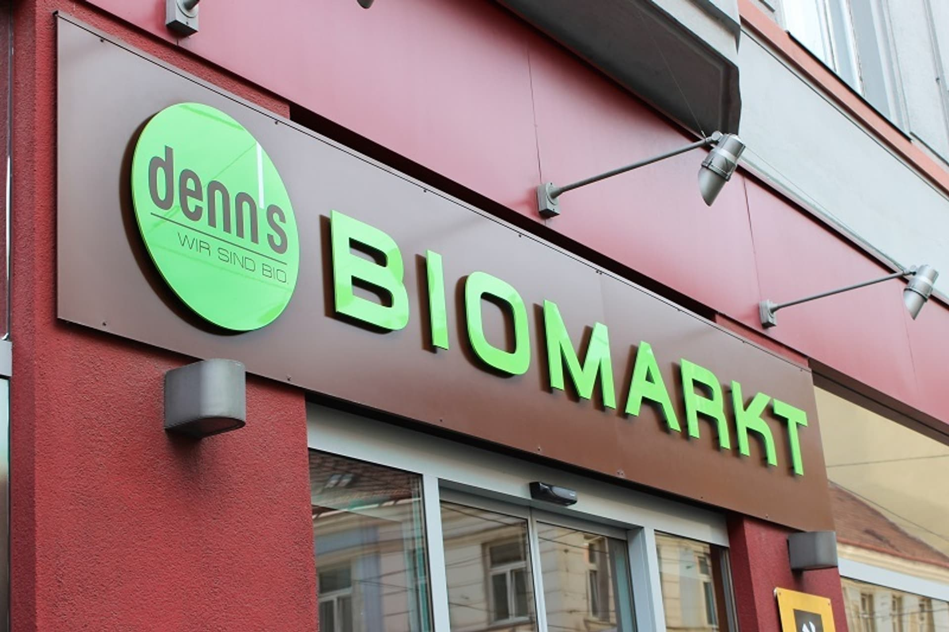 Denns Biomarkt Schriftzug c denns