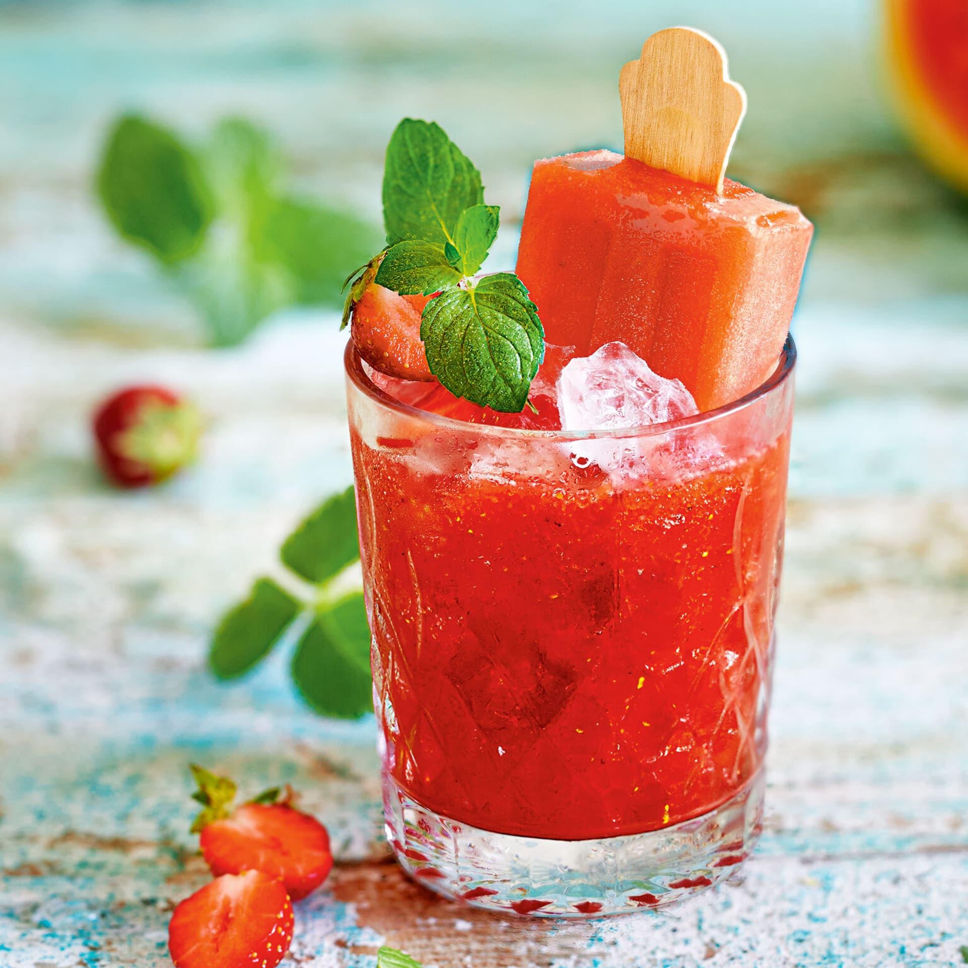 Wassermelonen-Eis-Cocktail