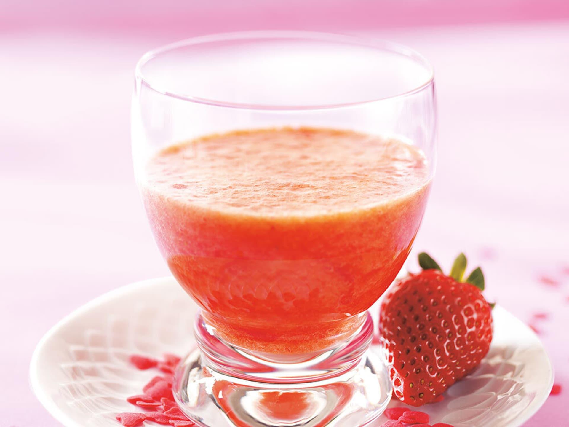 Erdbeer cocktail suesses geheimnis